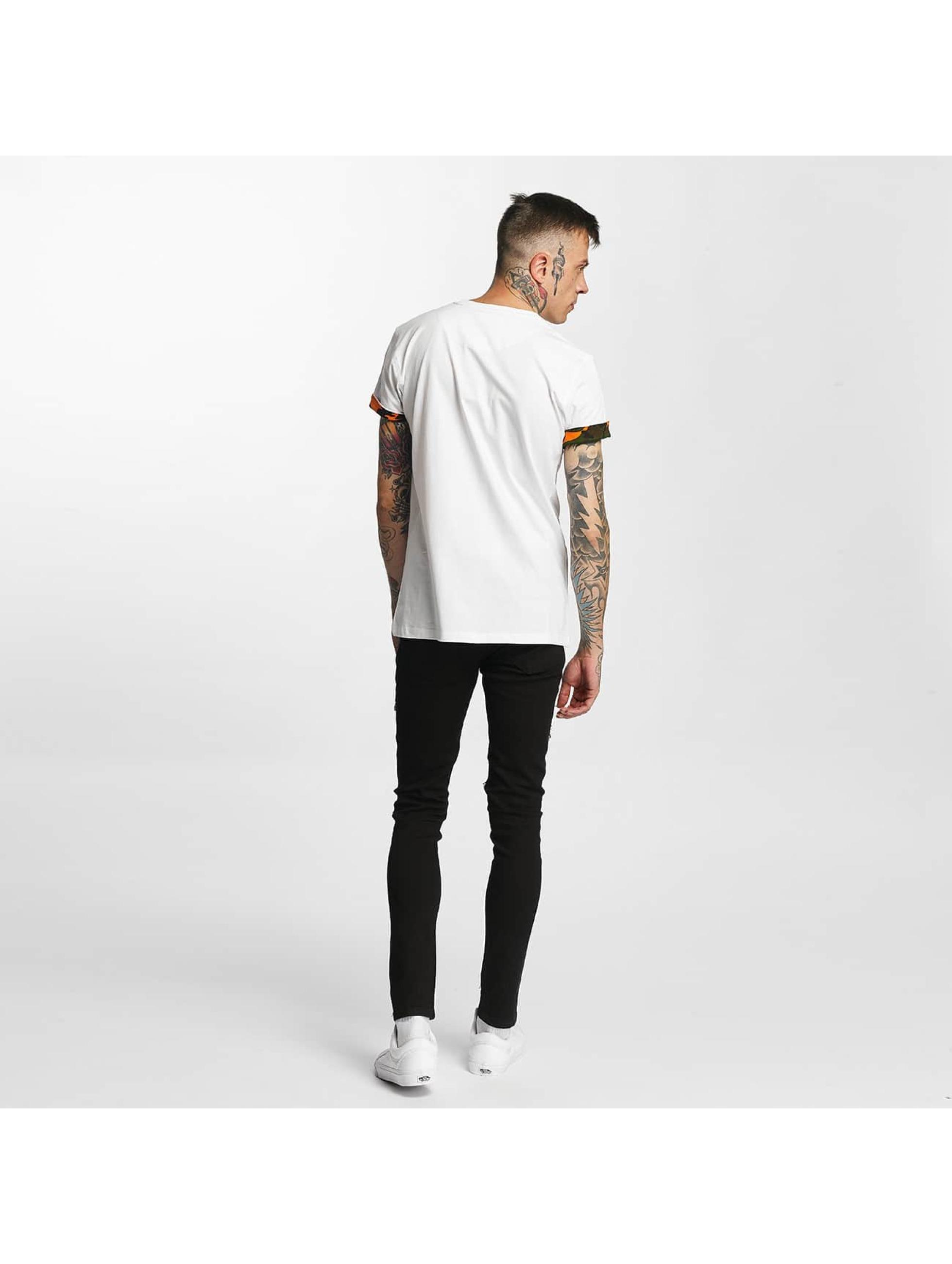 Criminal Damage T-skjorter Dazzle hvit