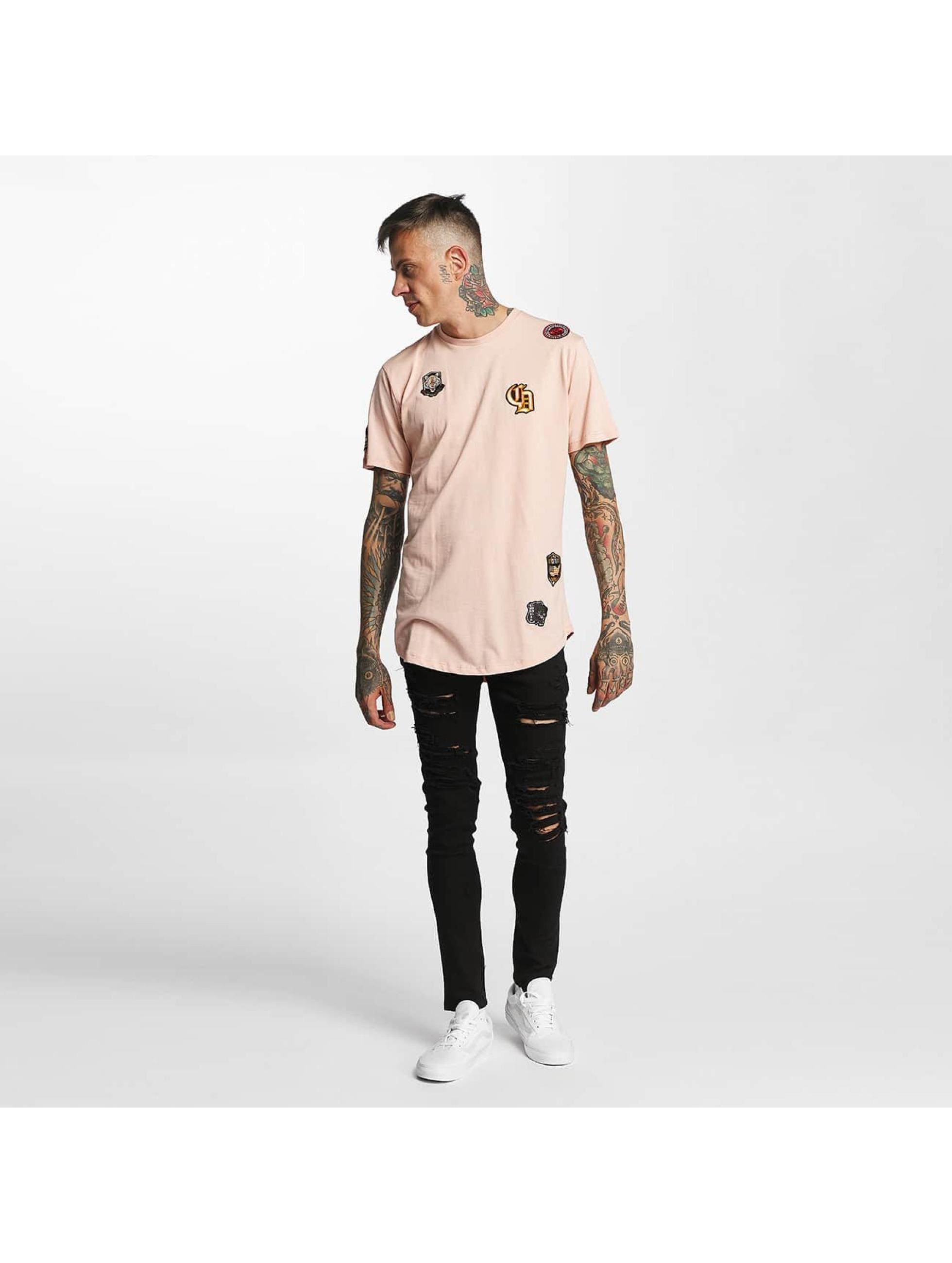 Criminal Damage T-skjorter Emblem rosa