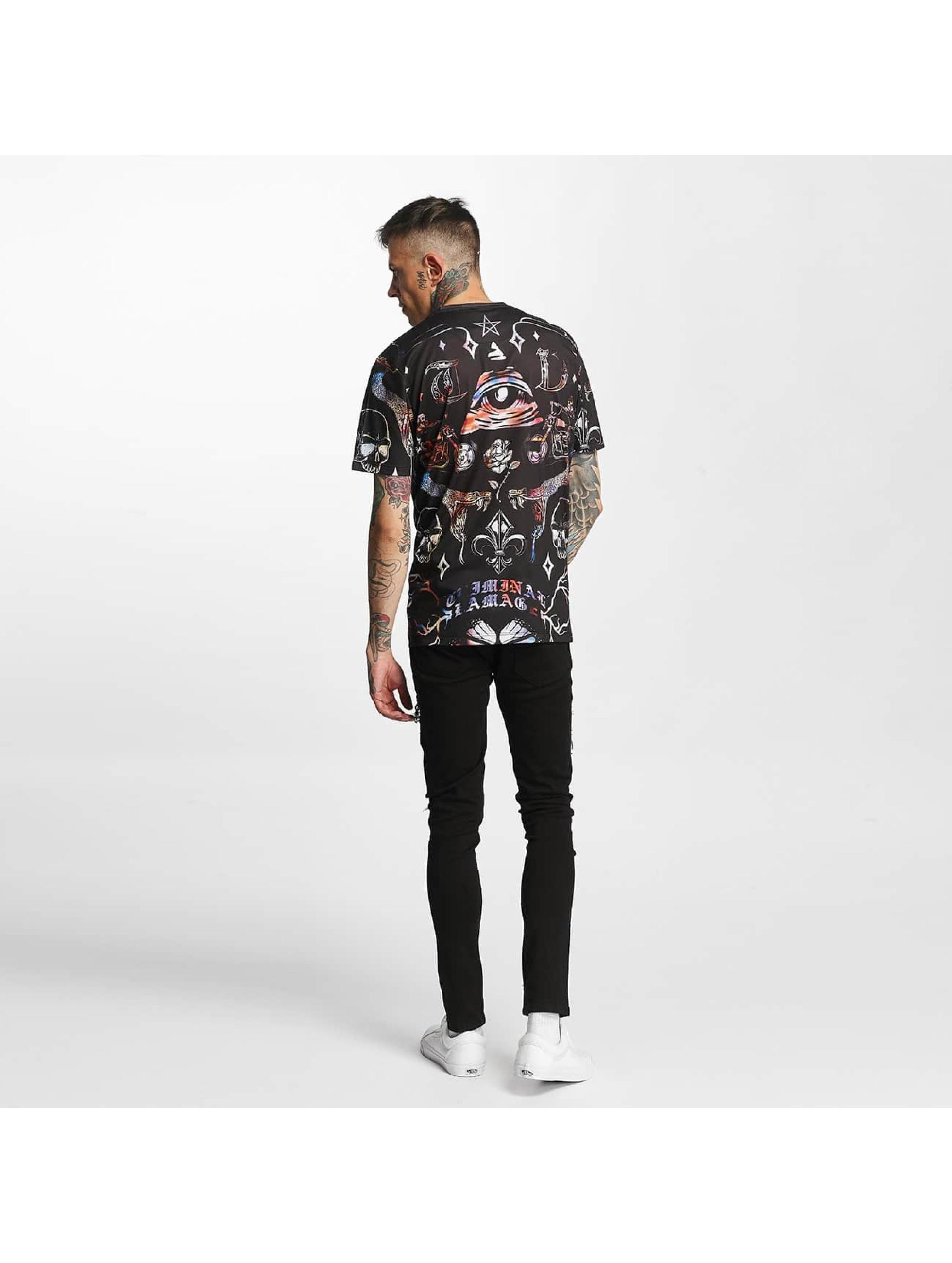 Criminal Damage T-skjorter Illuminate svart