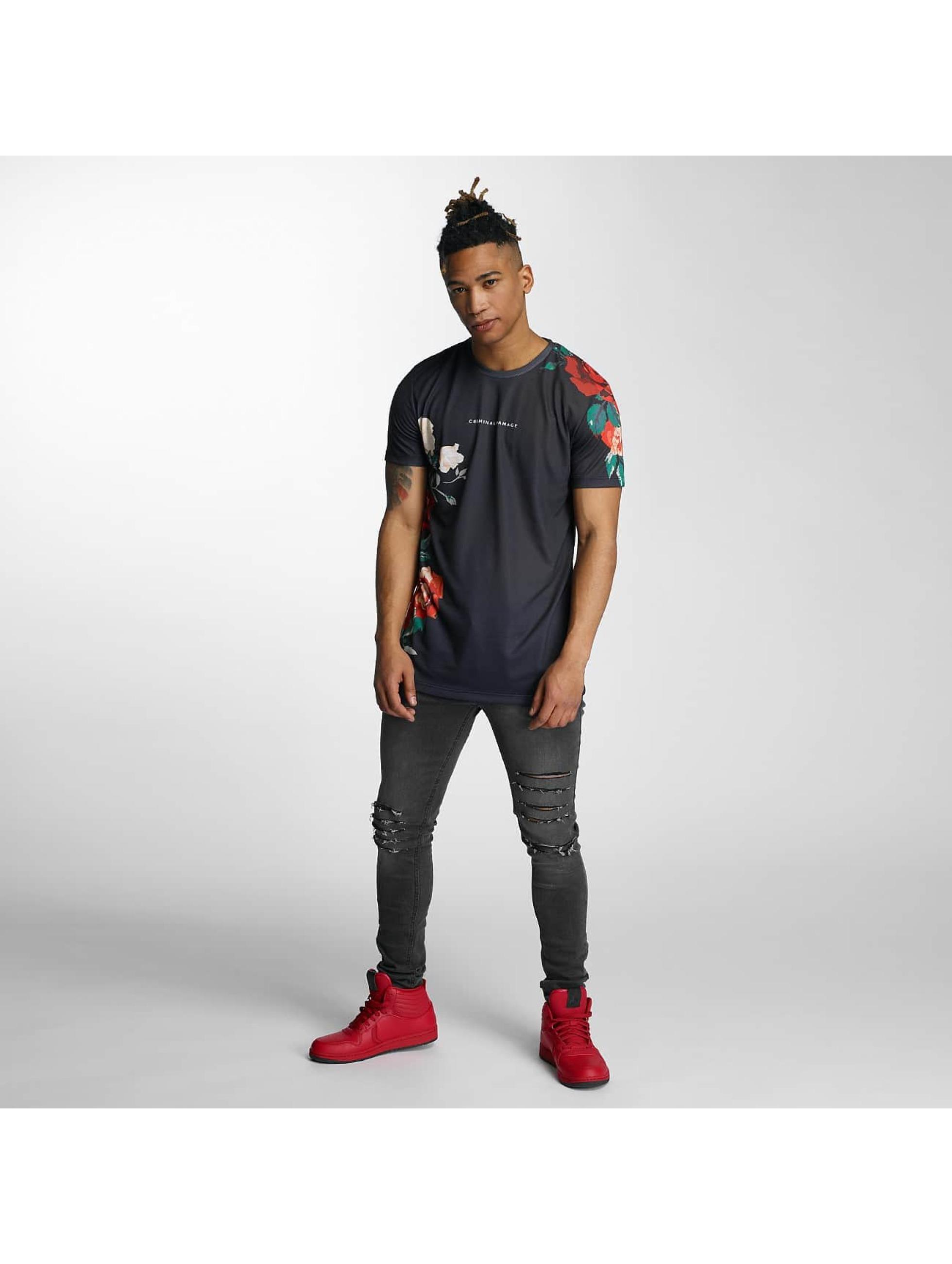 Criminal Damage T-skjorter Luis svart