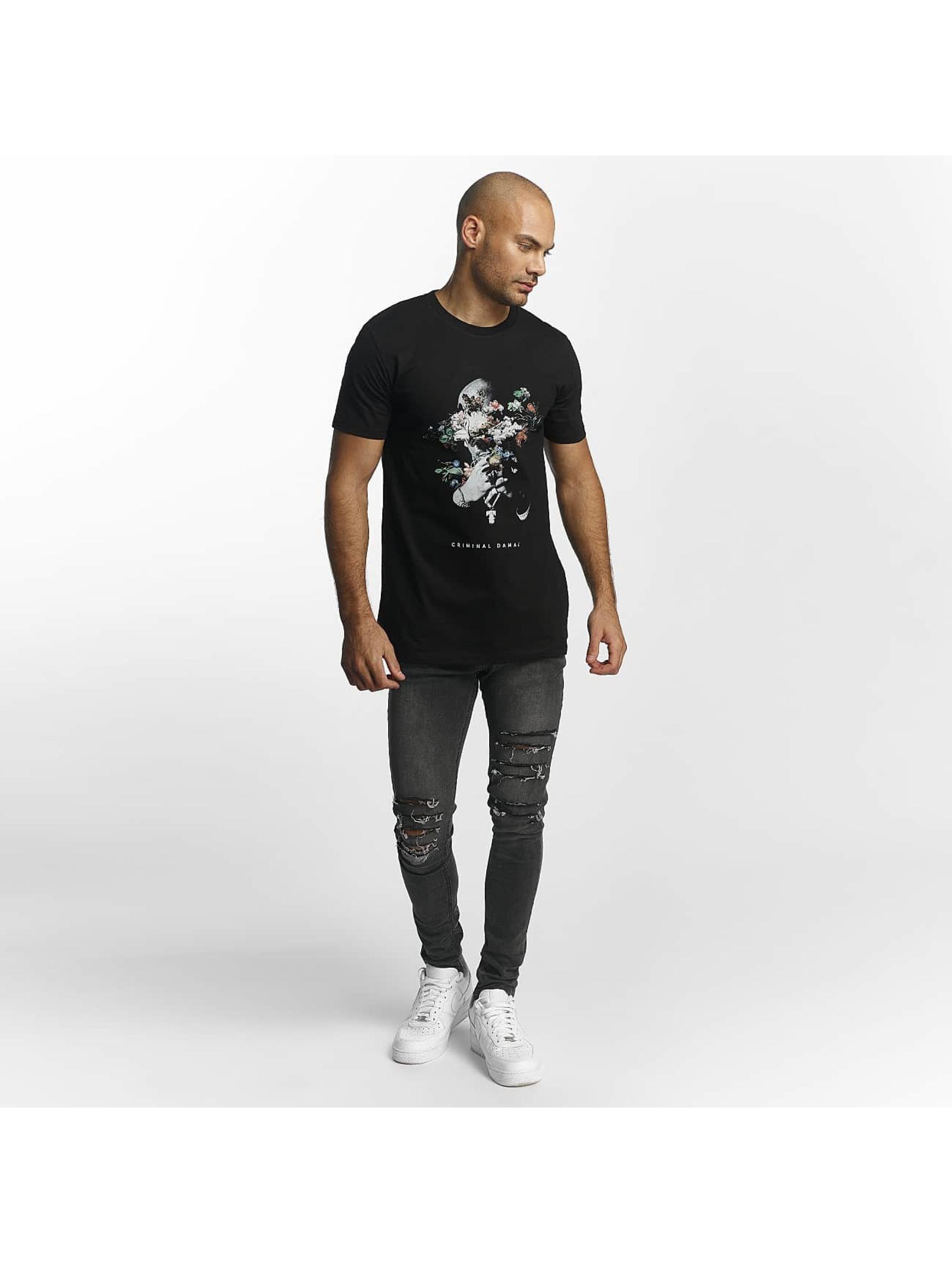 Criminal Damage T-skjorter Makaveli svart