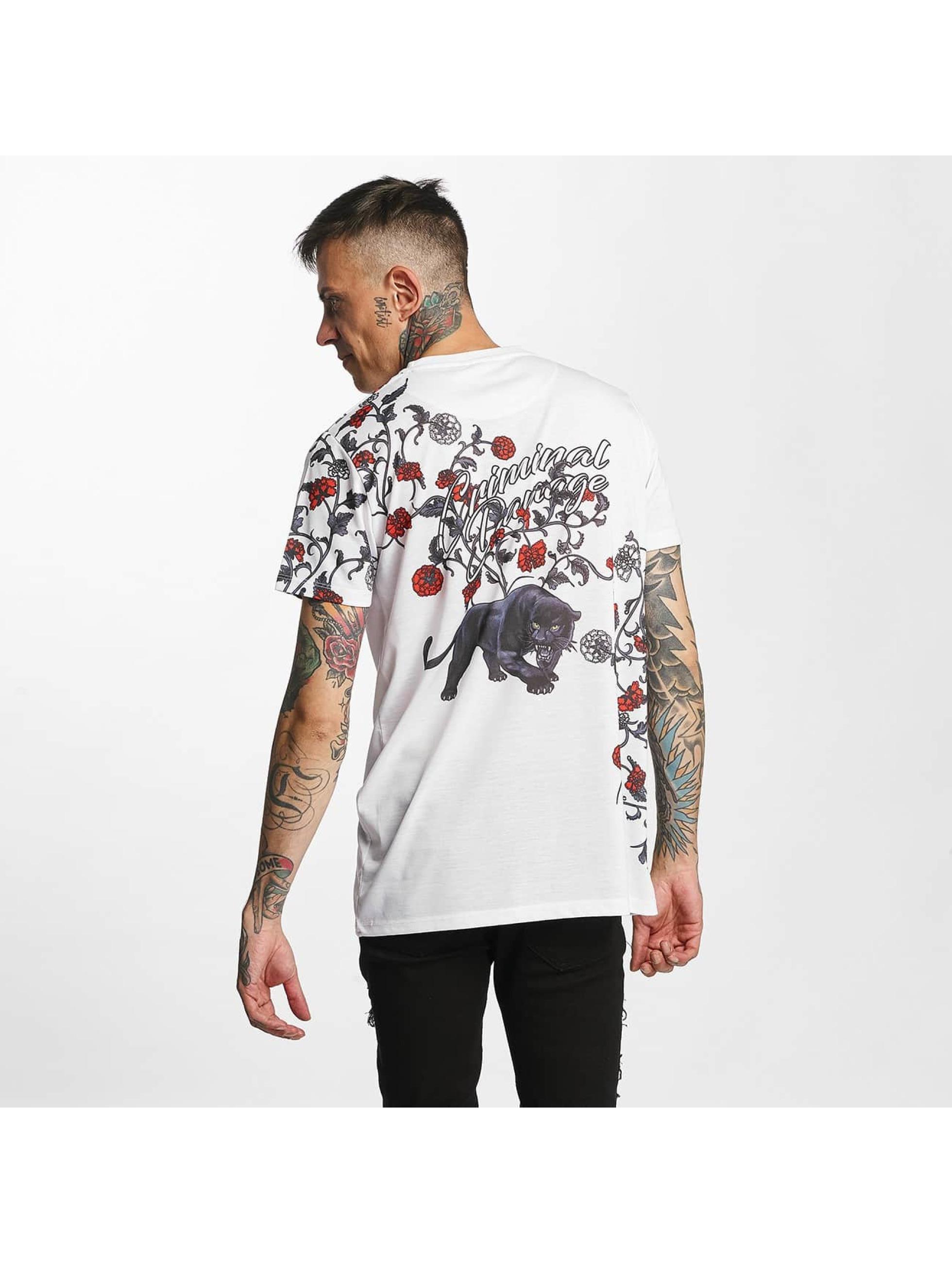 Criminal Damage Tričká Panther biela
