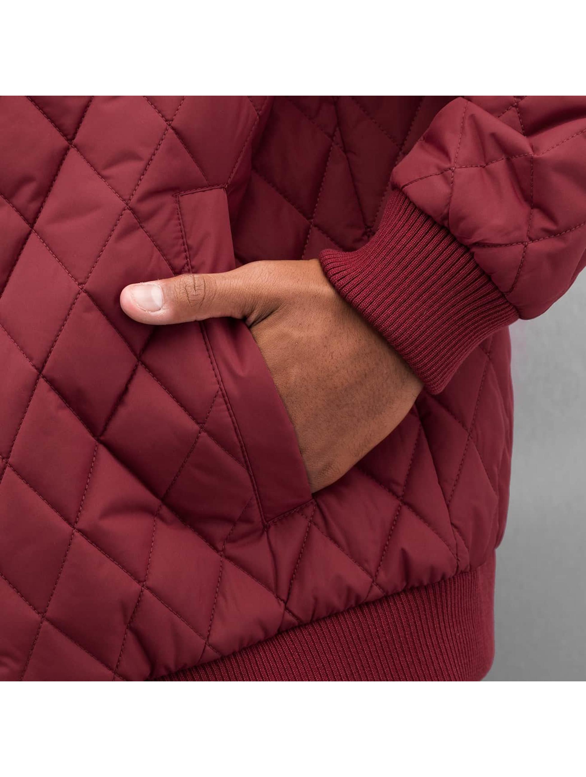 Cyprime Демисезонная куртка Quilted красный