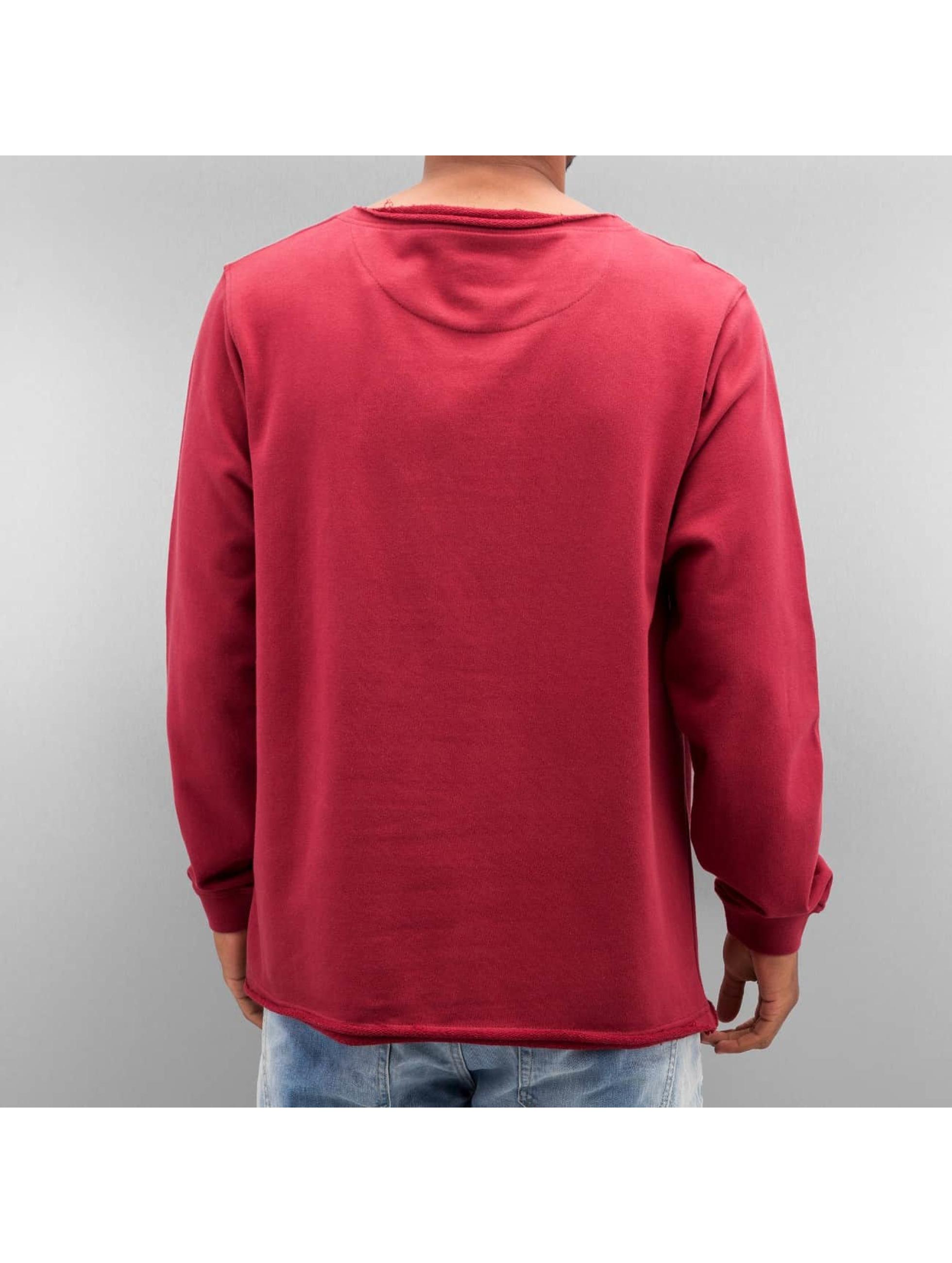 Cyprime Пуловер Wide Round Neck красный