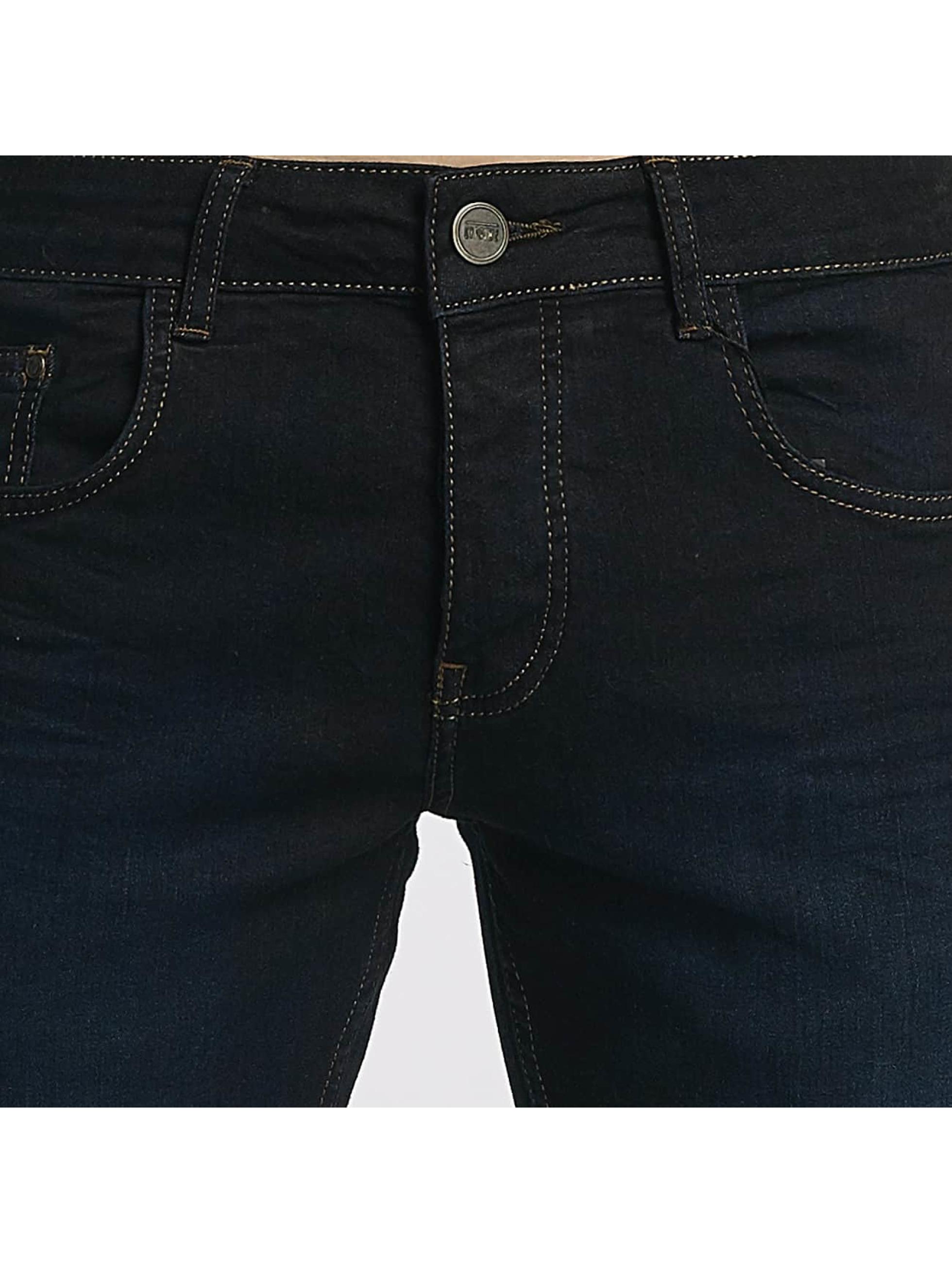 Cyprime dżinsy przylegające Marold niebieski