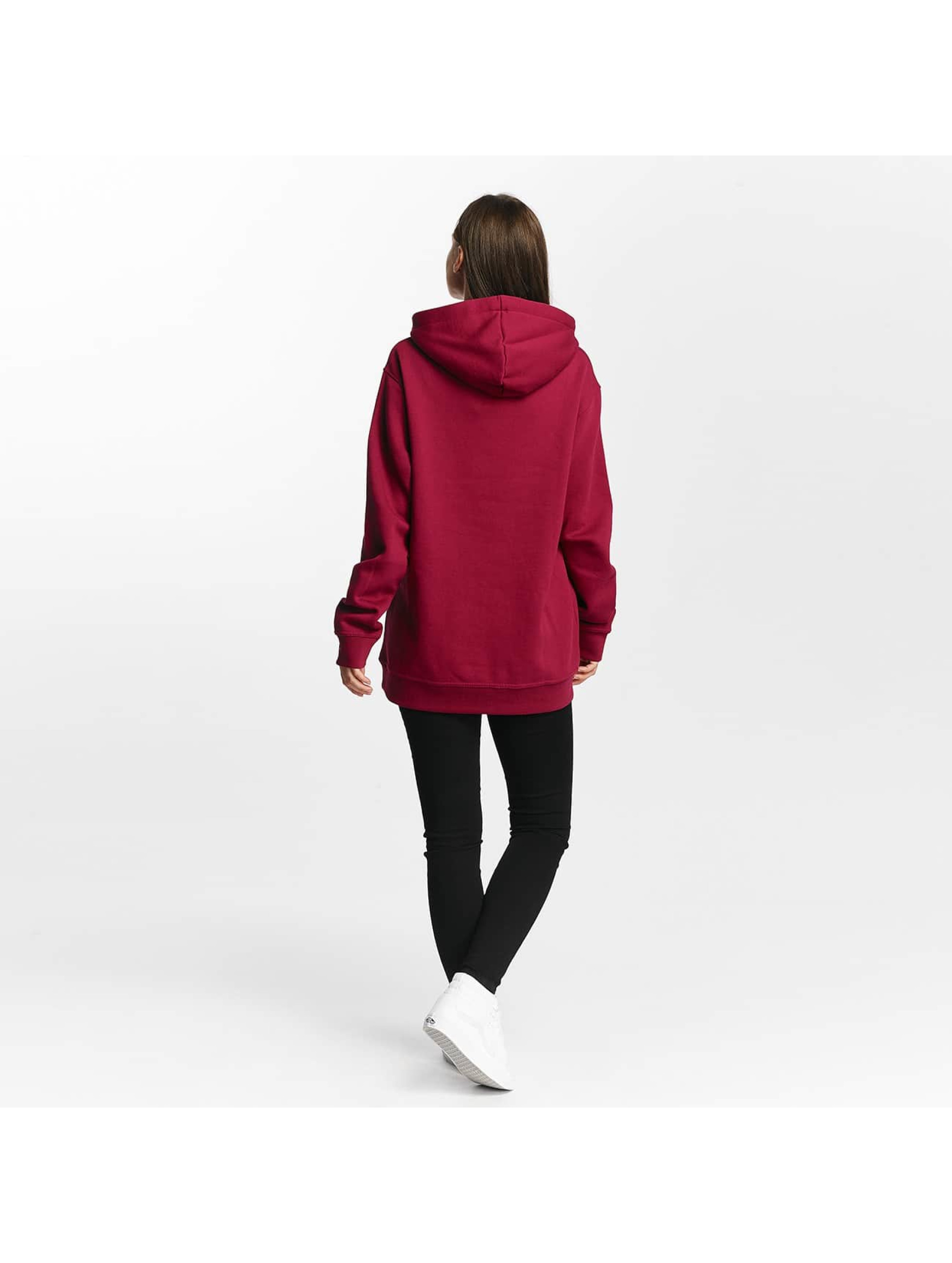 Cyprime Hoodie Cyber Oversized red