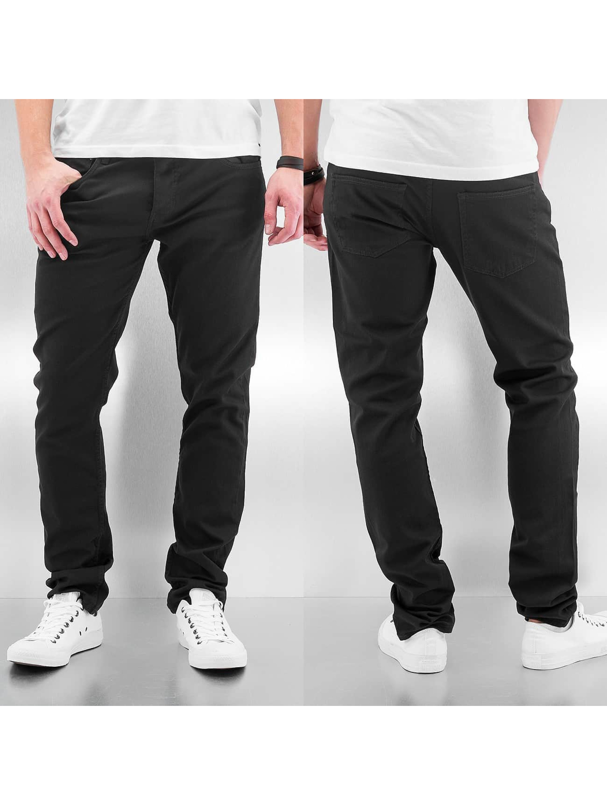 Cyprime Loose fit jeans Baccus zwart
