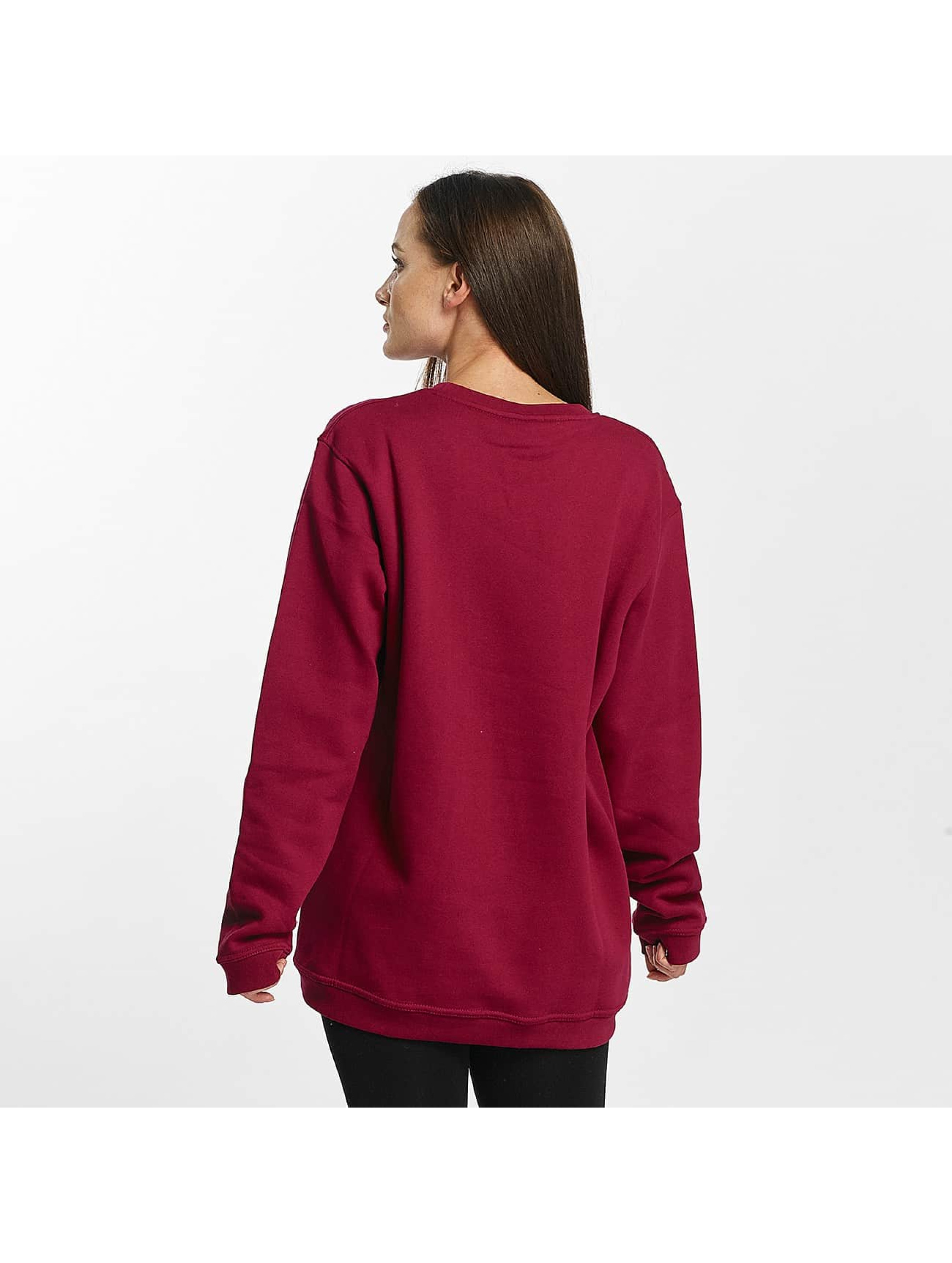 Cyprime Pullover Titanium Oversized red