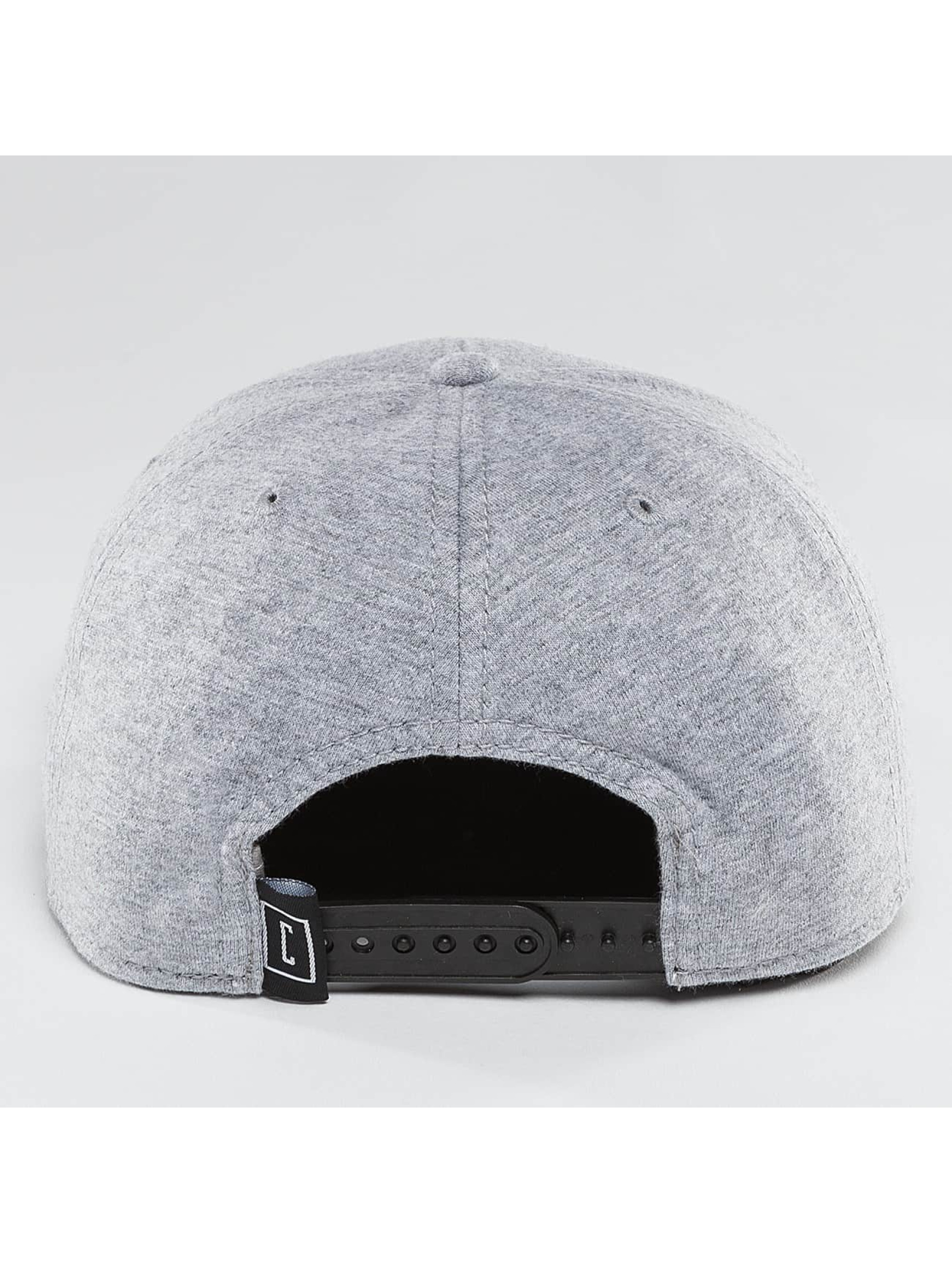 Cyprime Snapback Cap Starter Shape grey