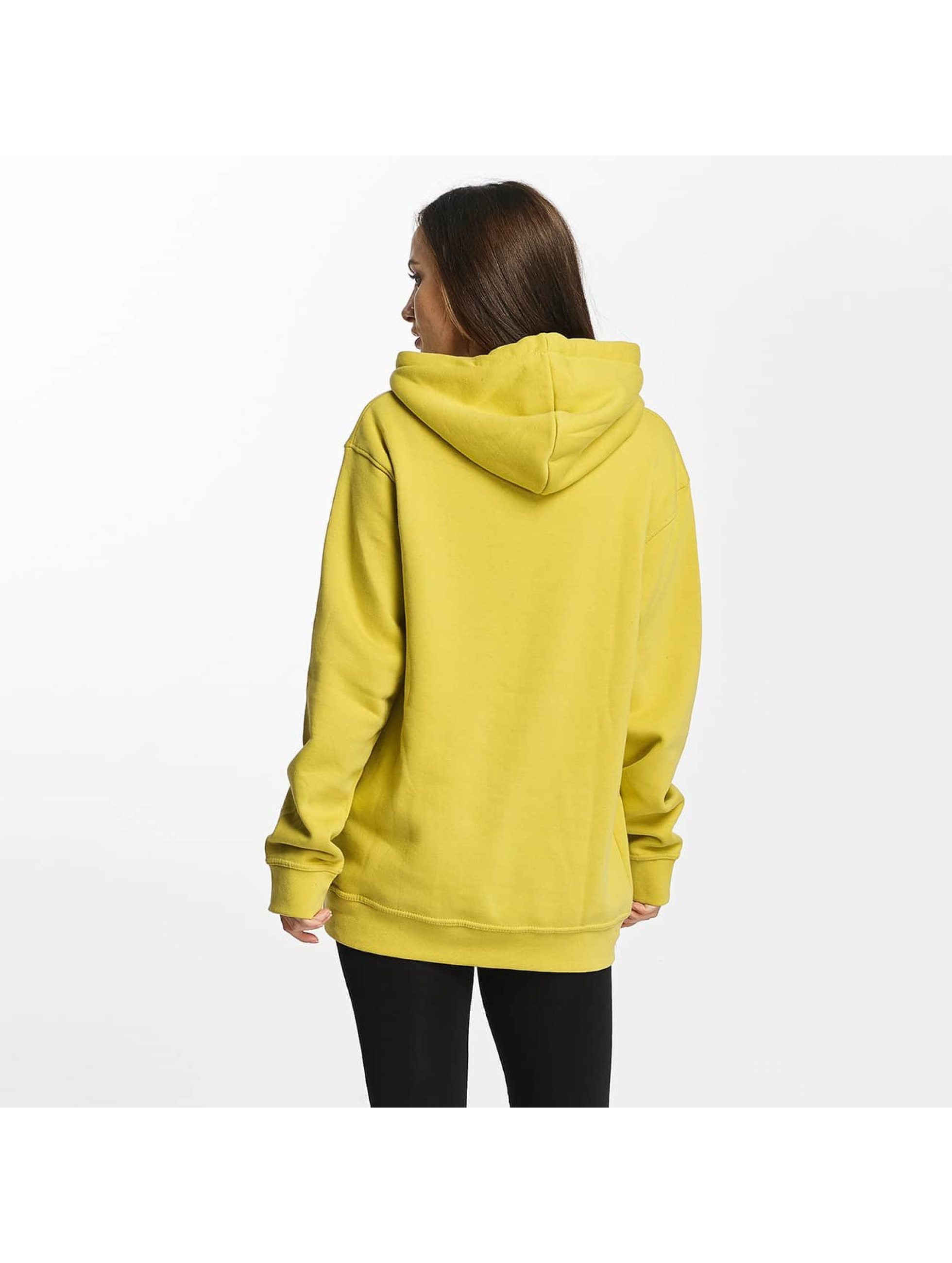 Cyprime Sweat capuche Cyber Oversized jaune