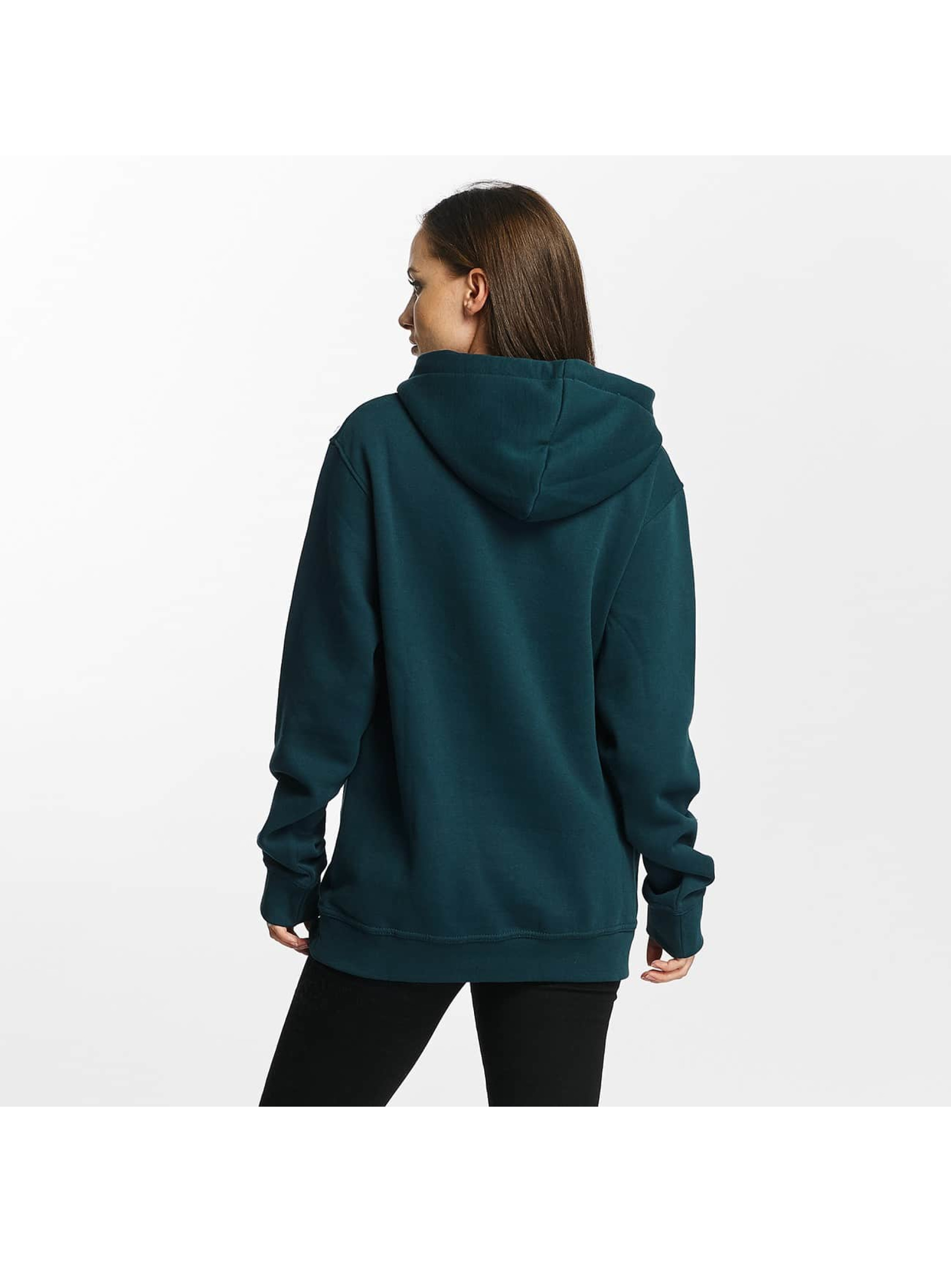 Cyprime Sweat capuche Cyber Oversized turquoise