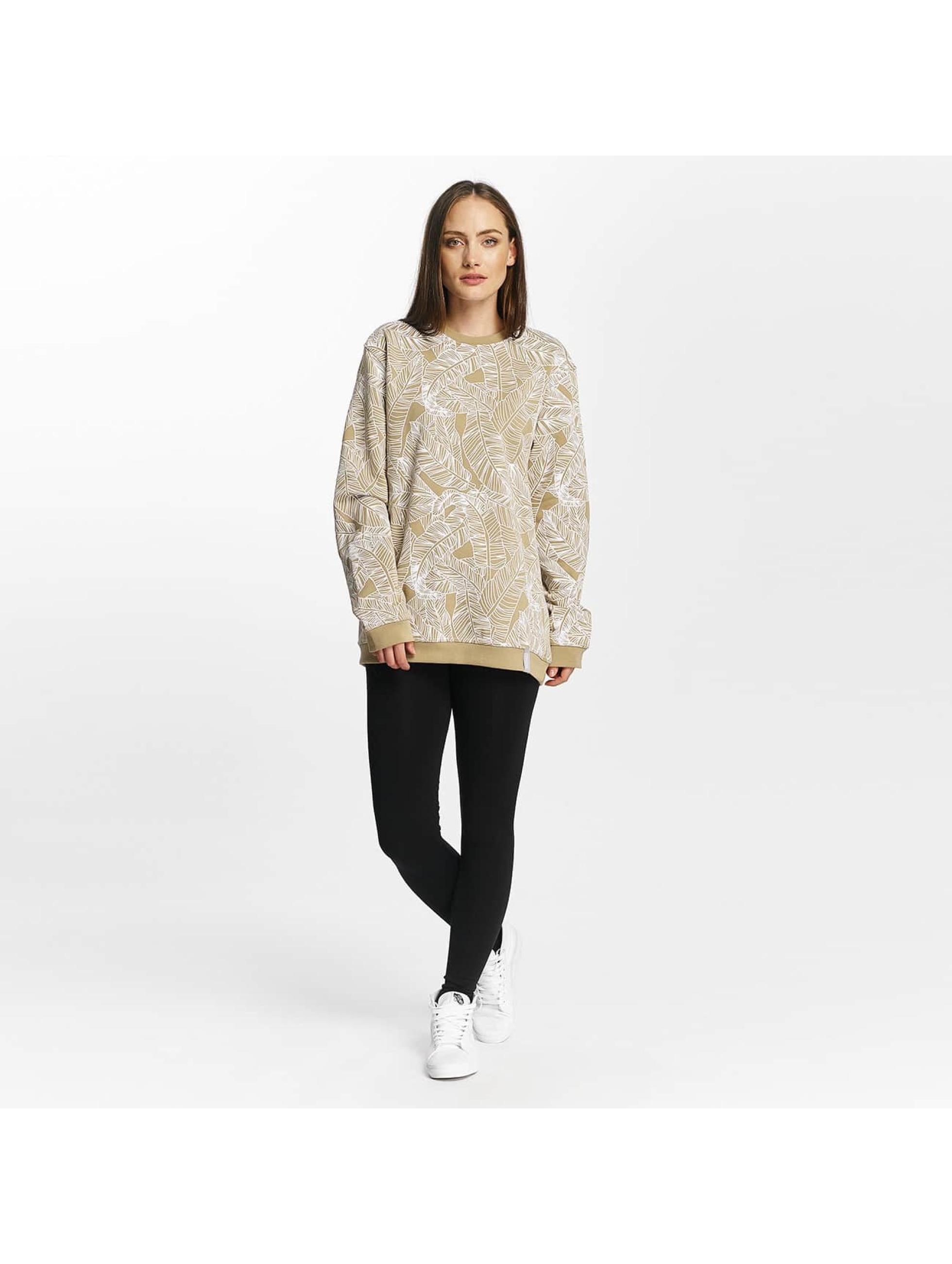 Cyprime Swetry Sodium Oversized bezowy