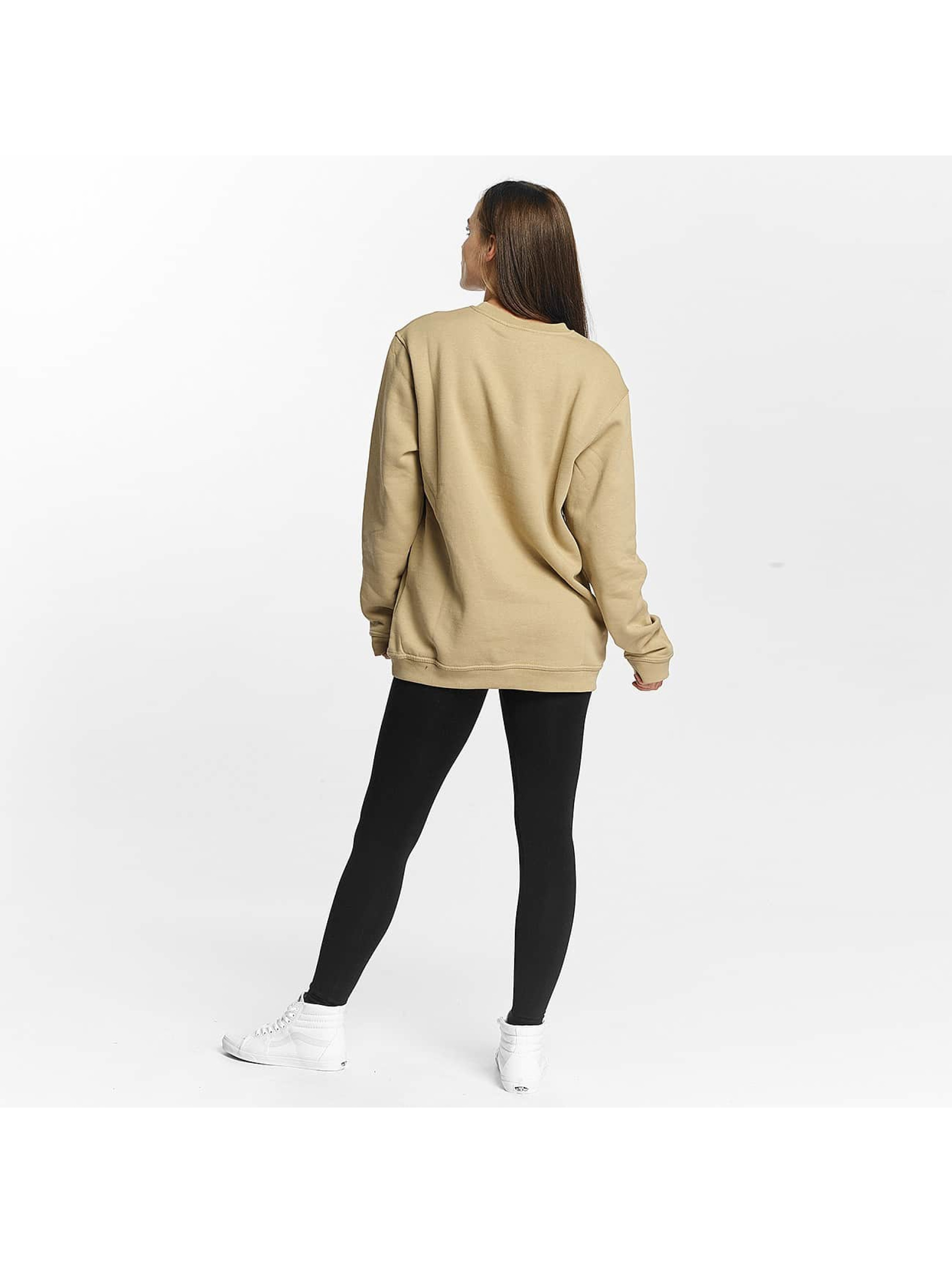 Cyprime Swetry Titanium Oversized bezowy