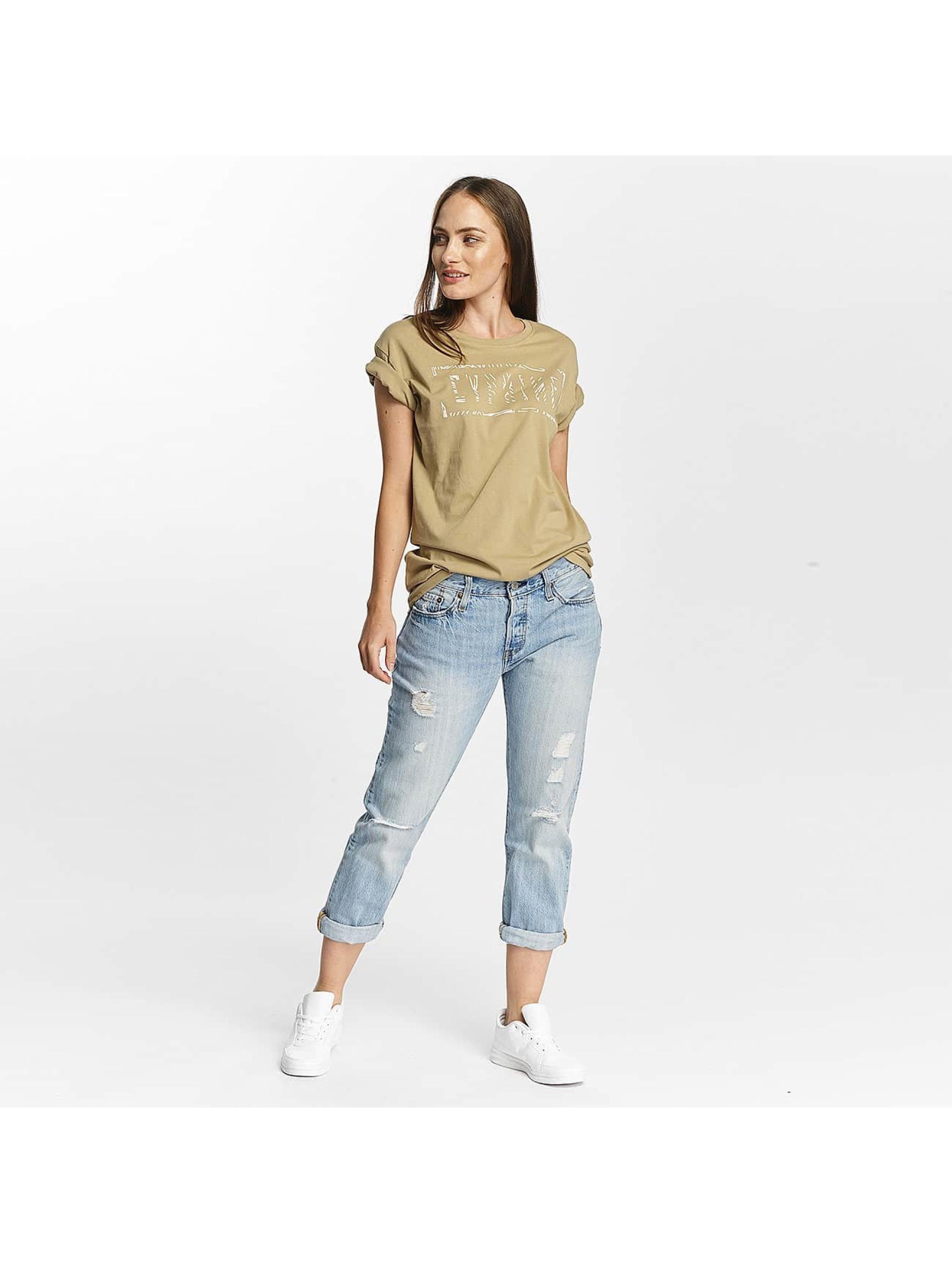 Cyprime T-Shirt Cerium Oversized beige