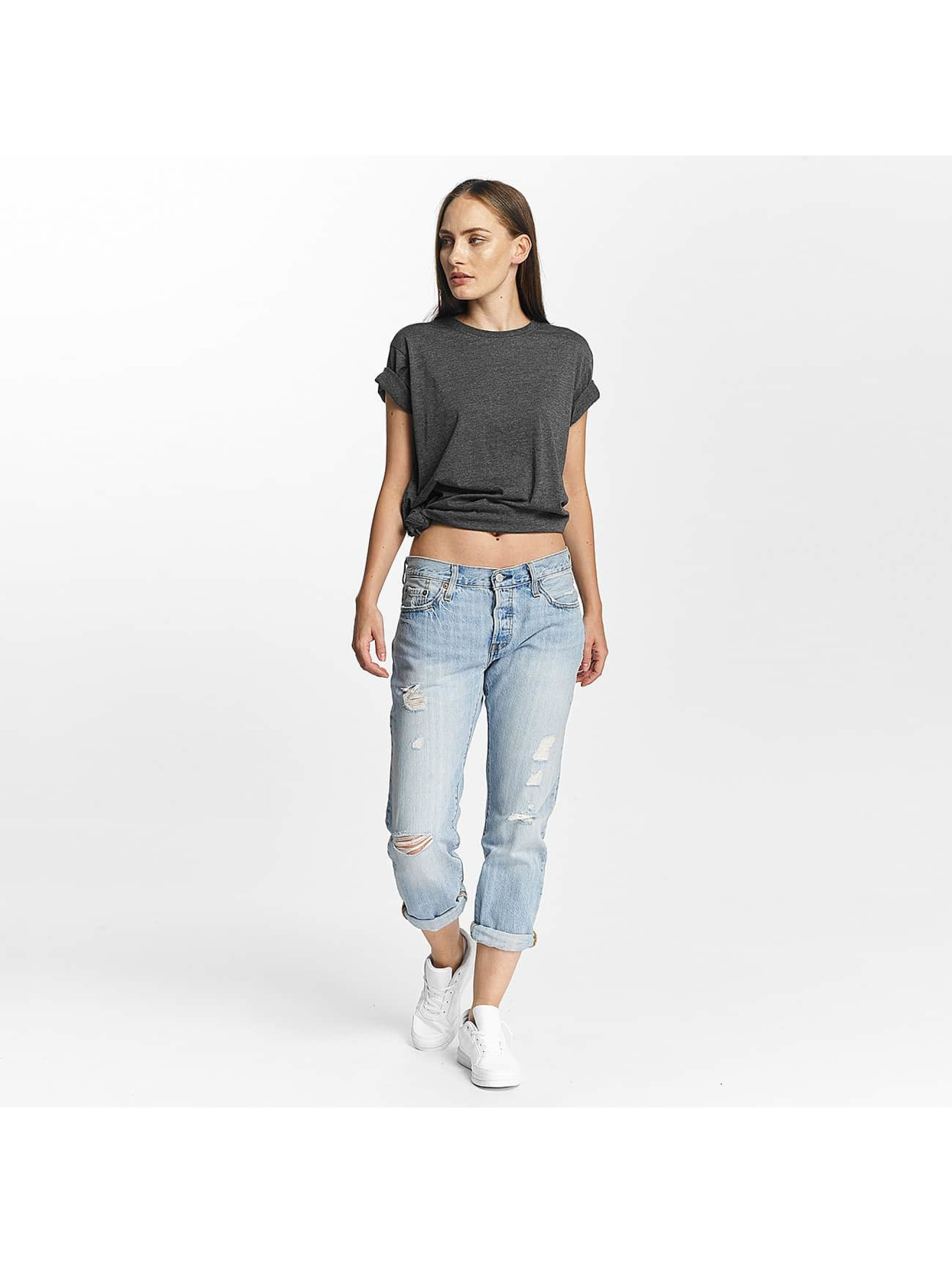 Cyprime T-Shirt Basic Organic Cotton Oversized grau