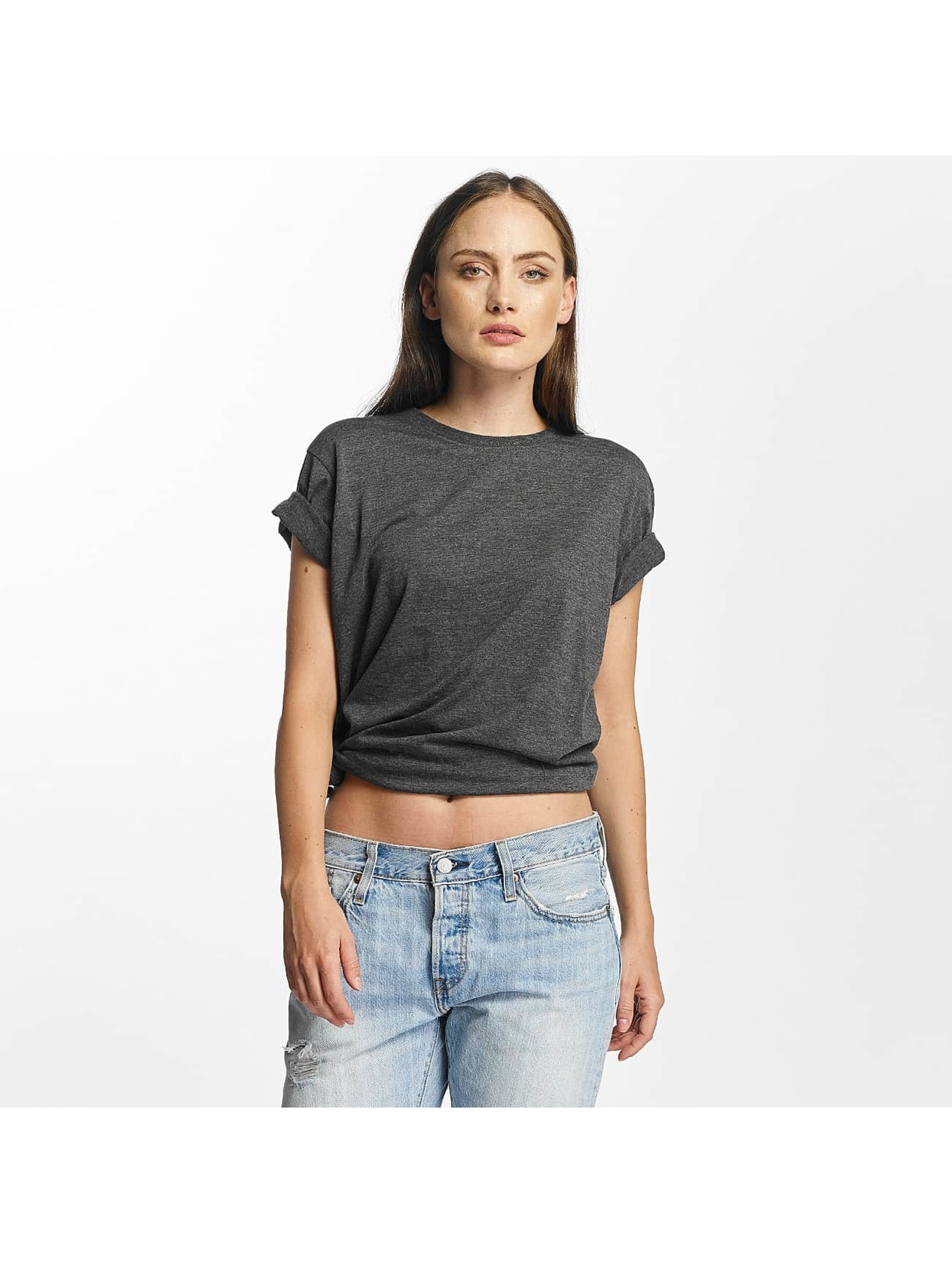 Cyprime T-shirt Basic Organic Cotton Oversized grigio