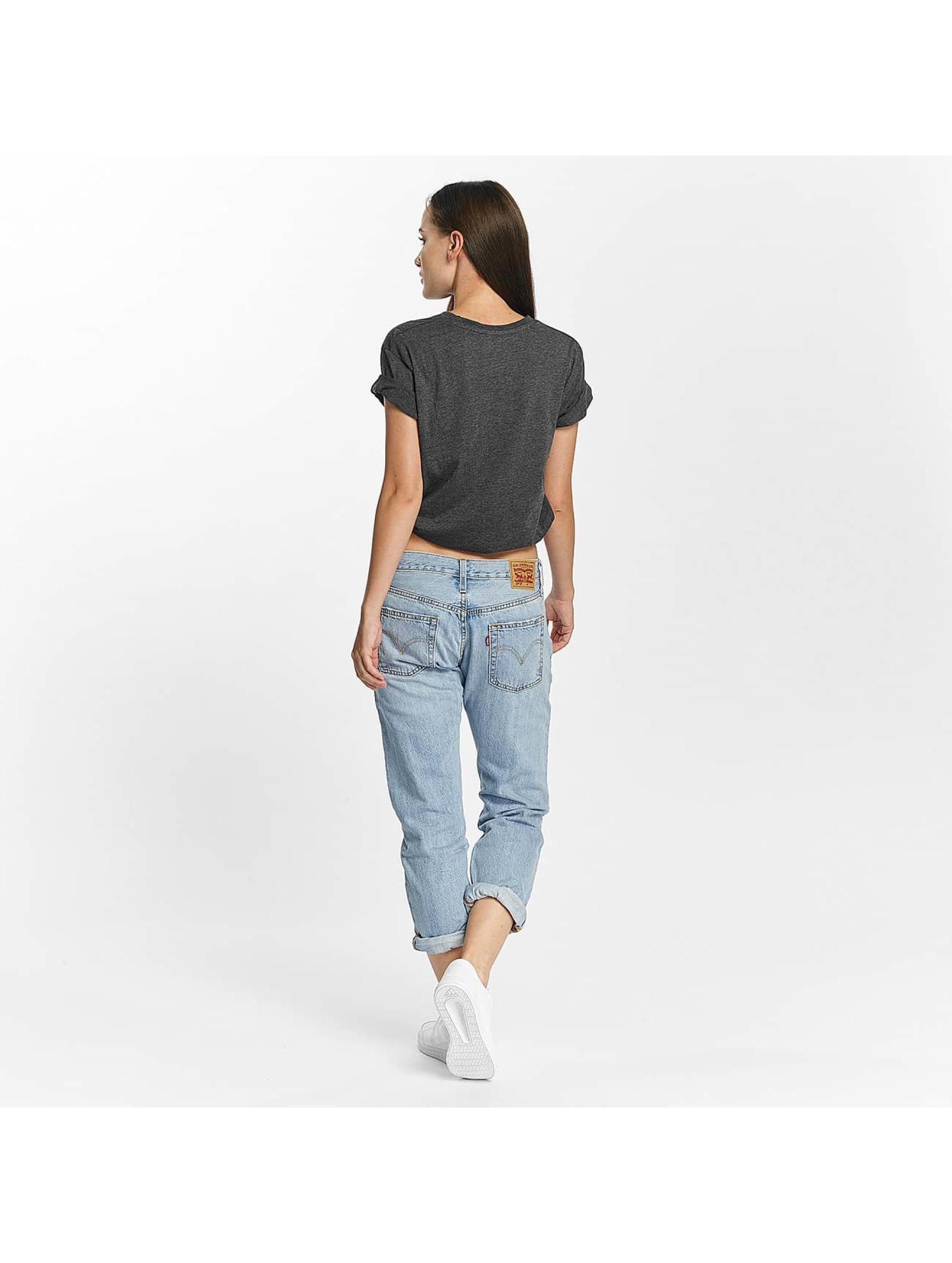 Cyprime t-shirt Basic Organic Cotton Oversized grijs