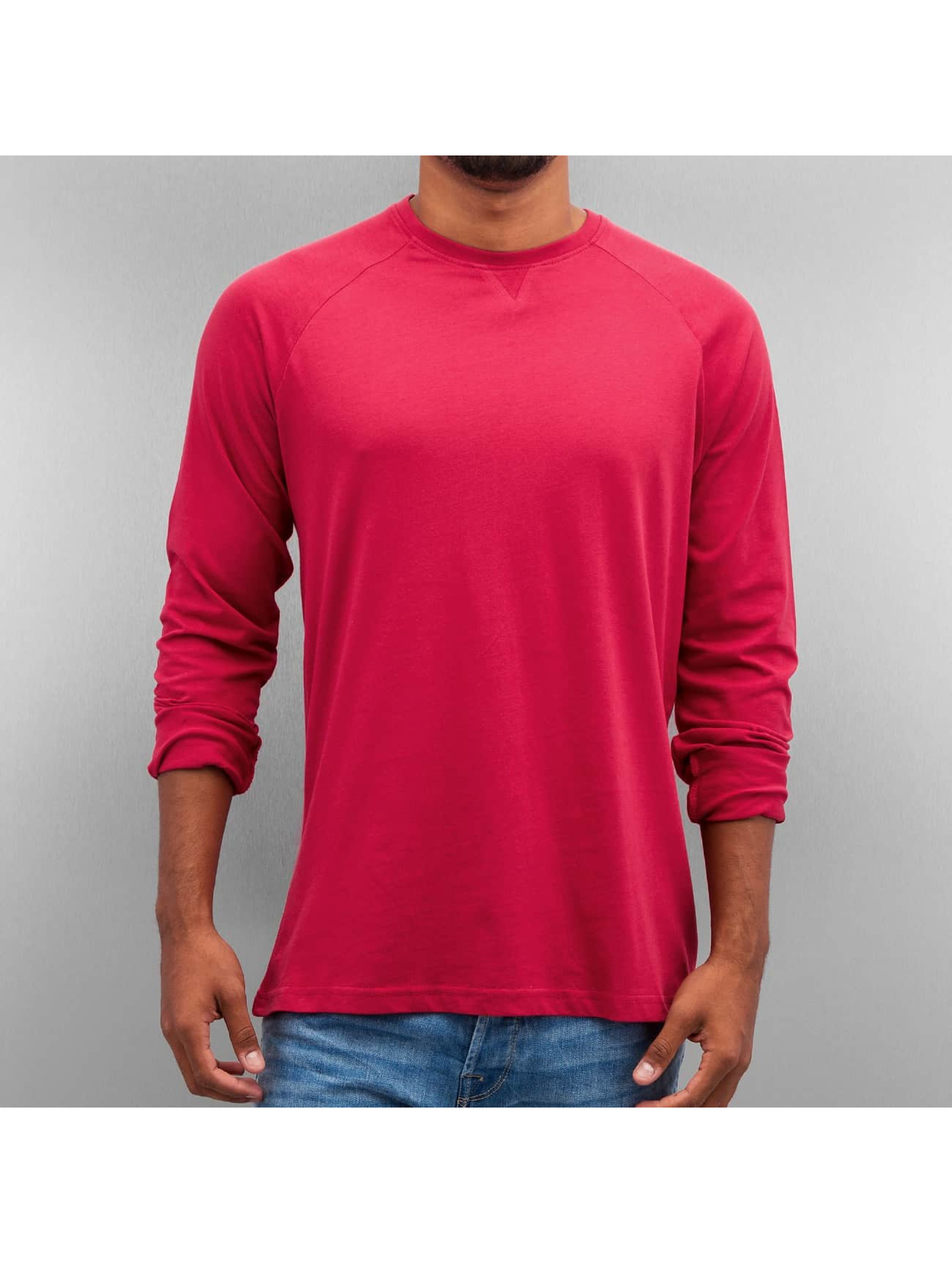 Cyprime T-Shirt manches longues Basic rouge