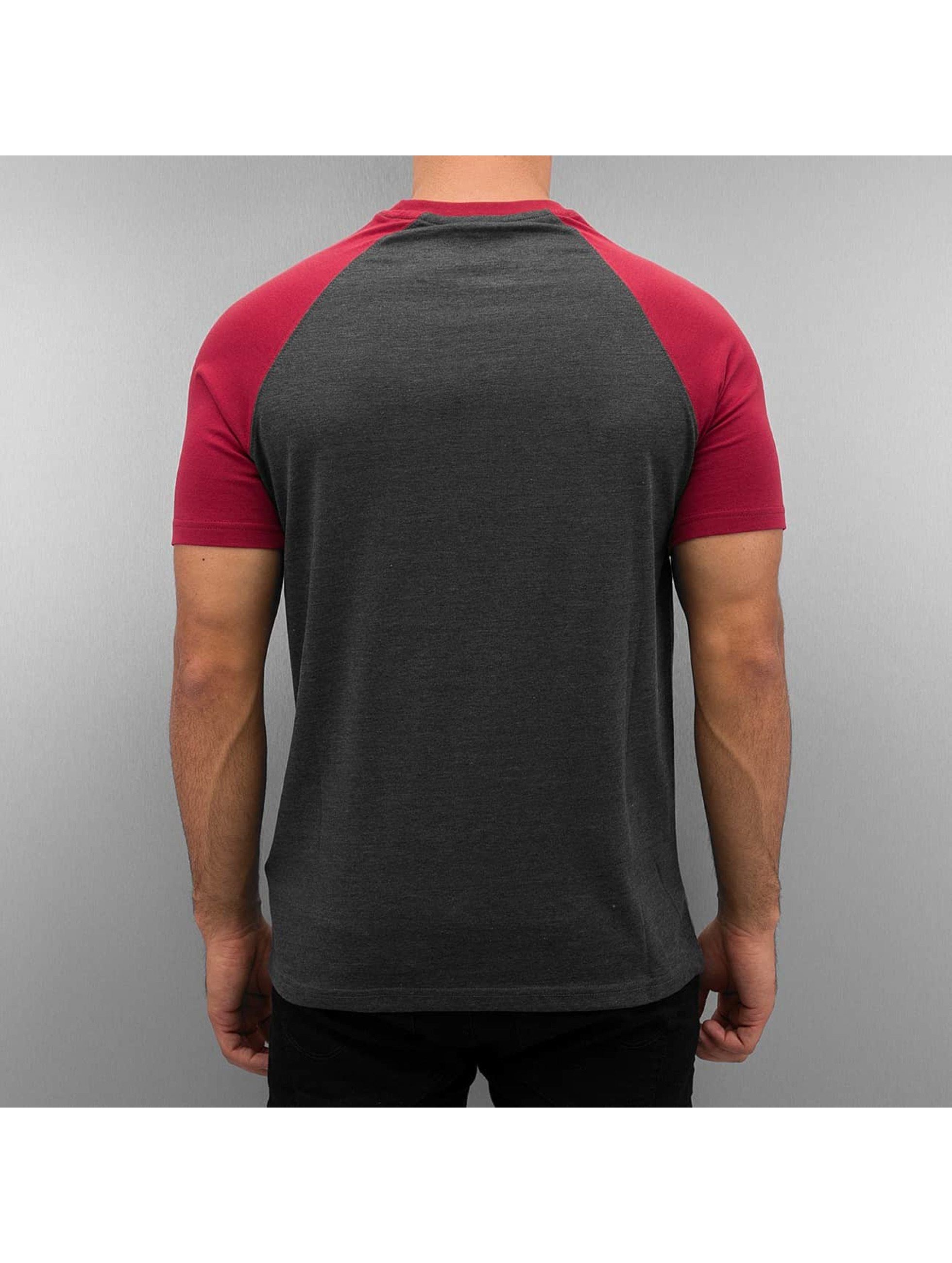 Cyprime T-shirt Raglan röd