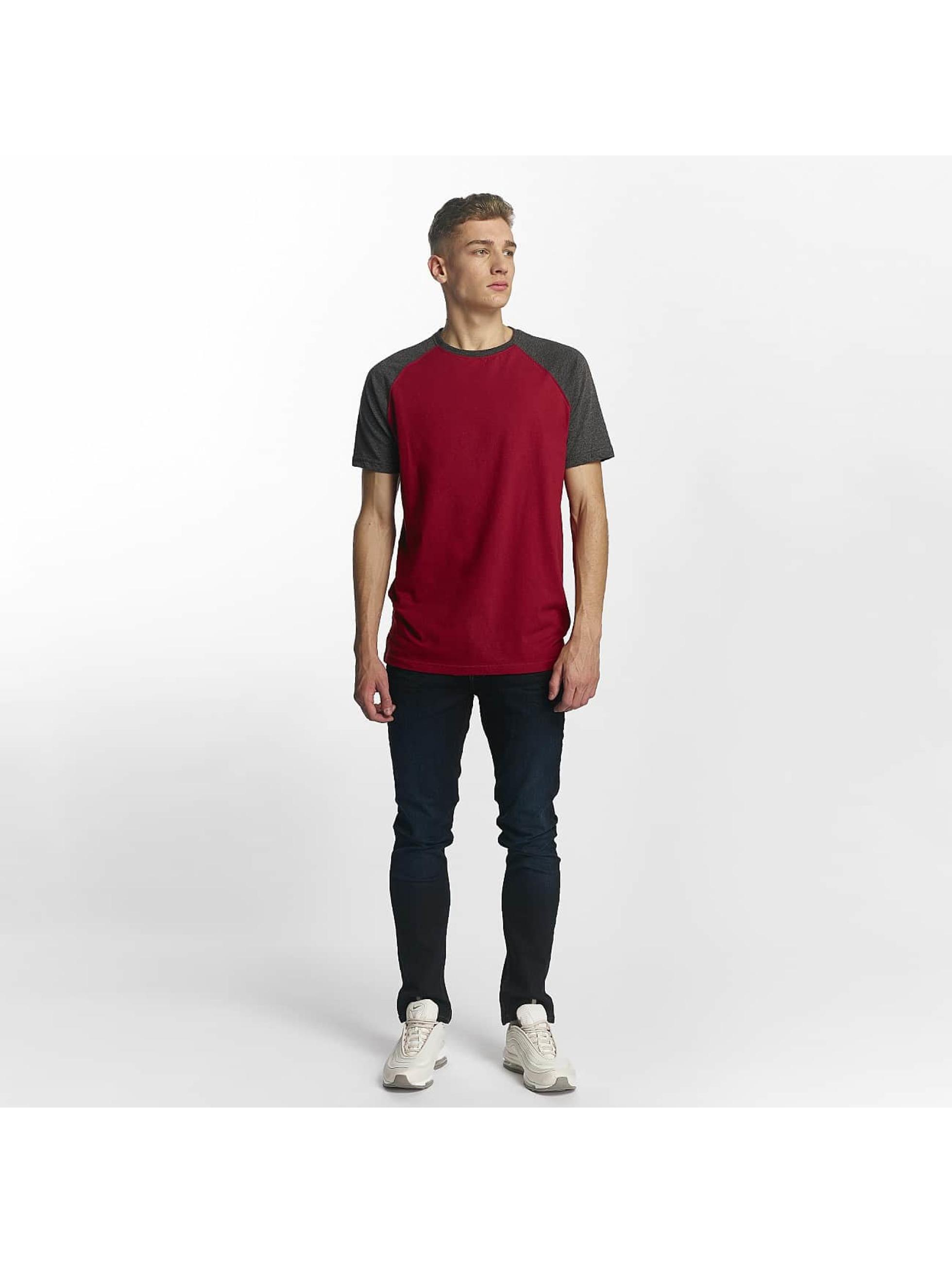 Cyprime T-Shirt Raglan rouge
