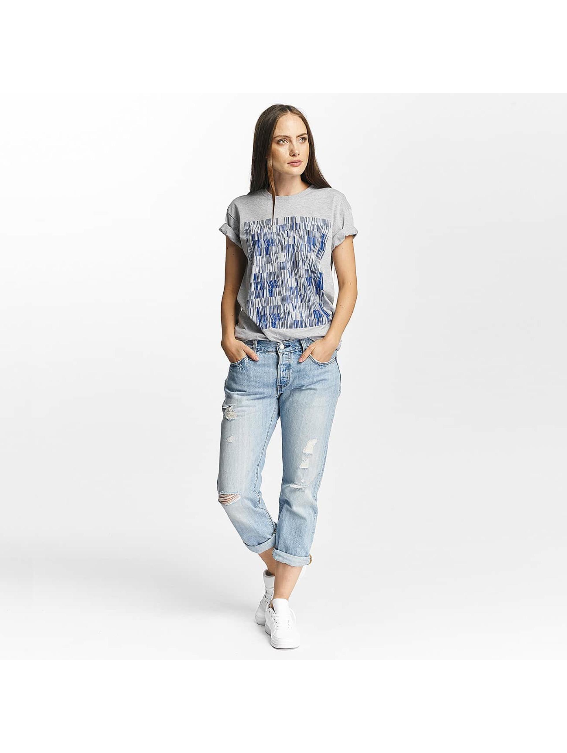 Cyprime T-skjorter Holmium Oversized grå