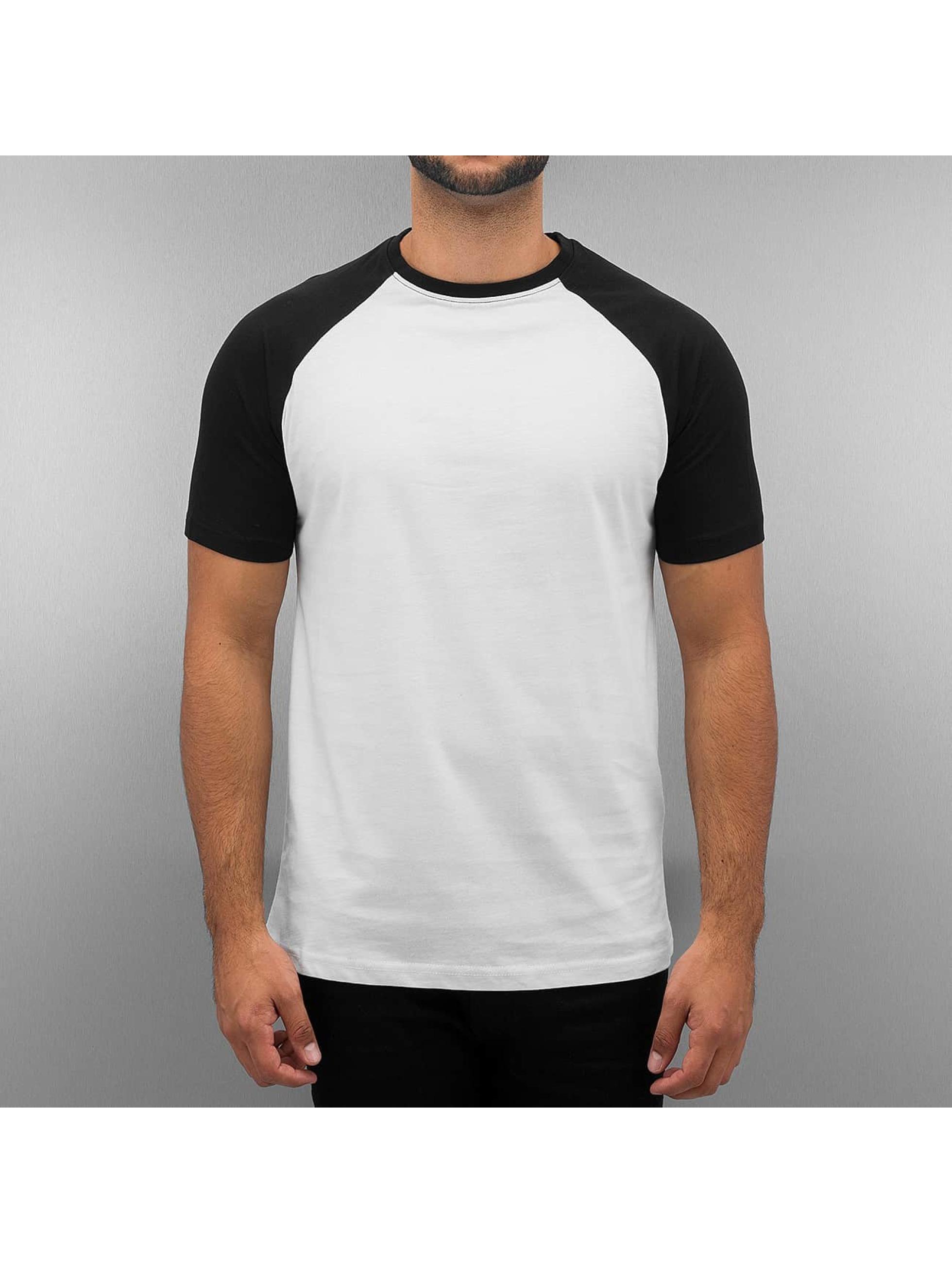 Cyprime T-skjorter Raglan hvit