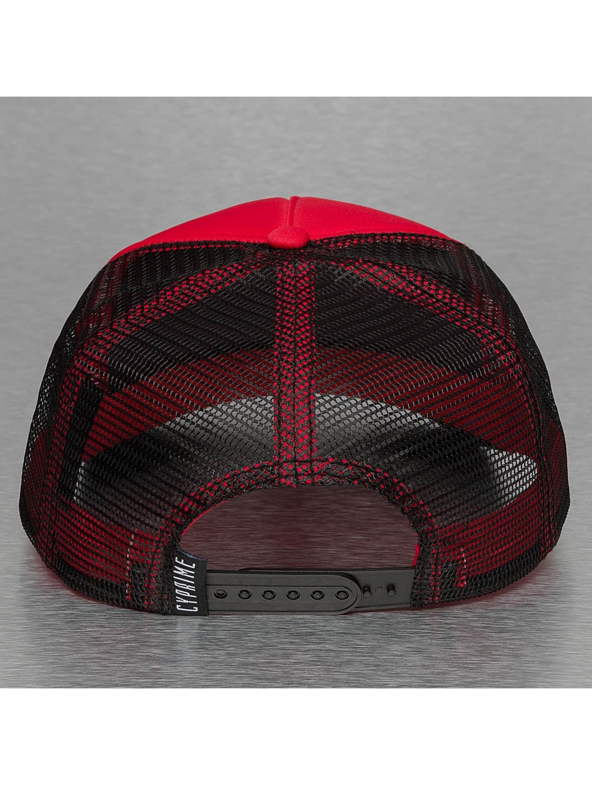 Cyprime Trucker Caps Basic czerwony