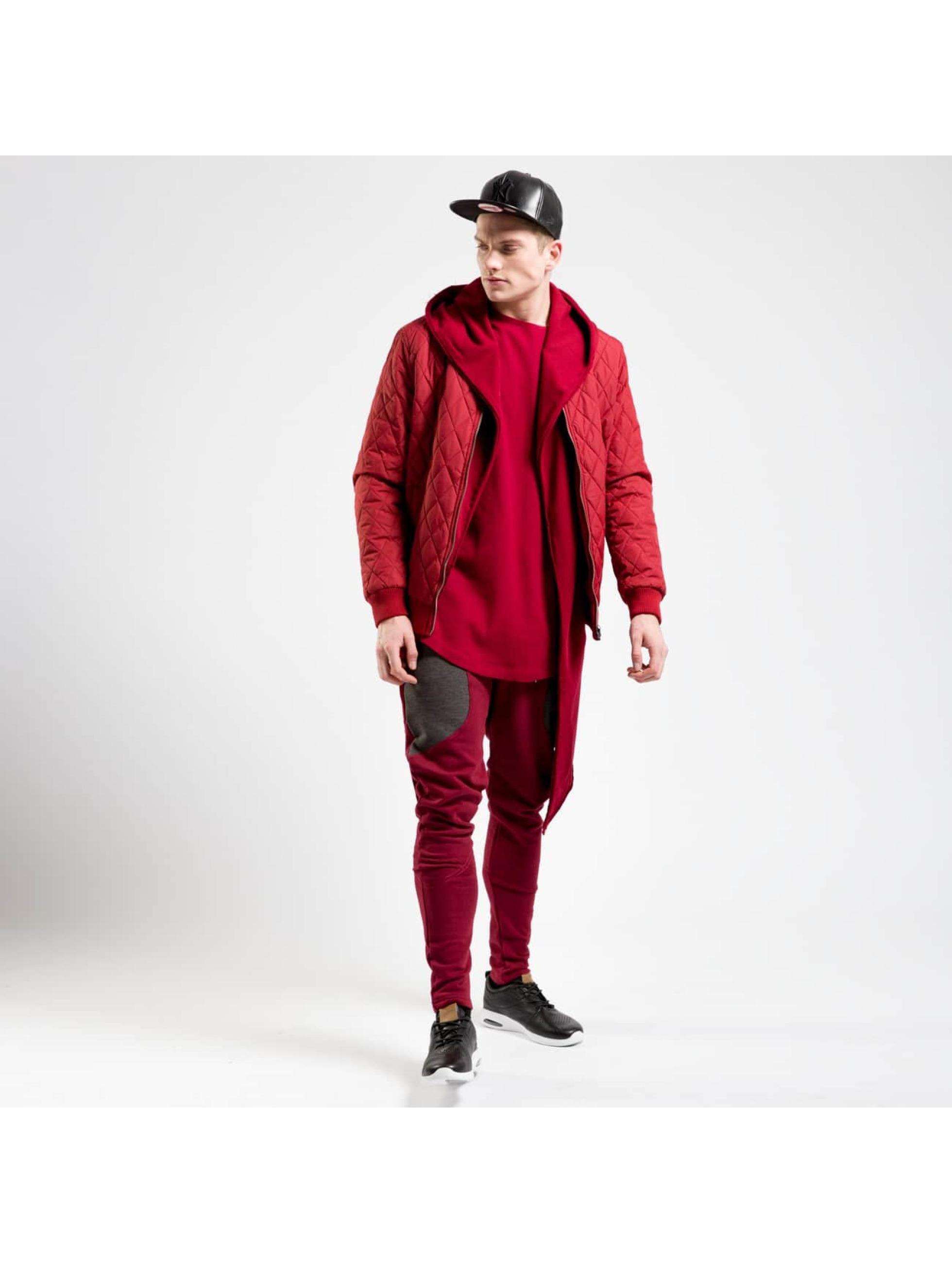 Cyprime Veste mi-saison légère Quilted rouge