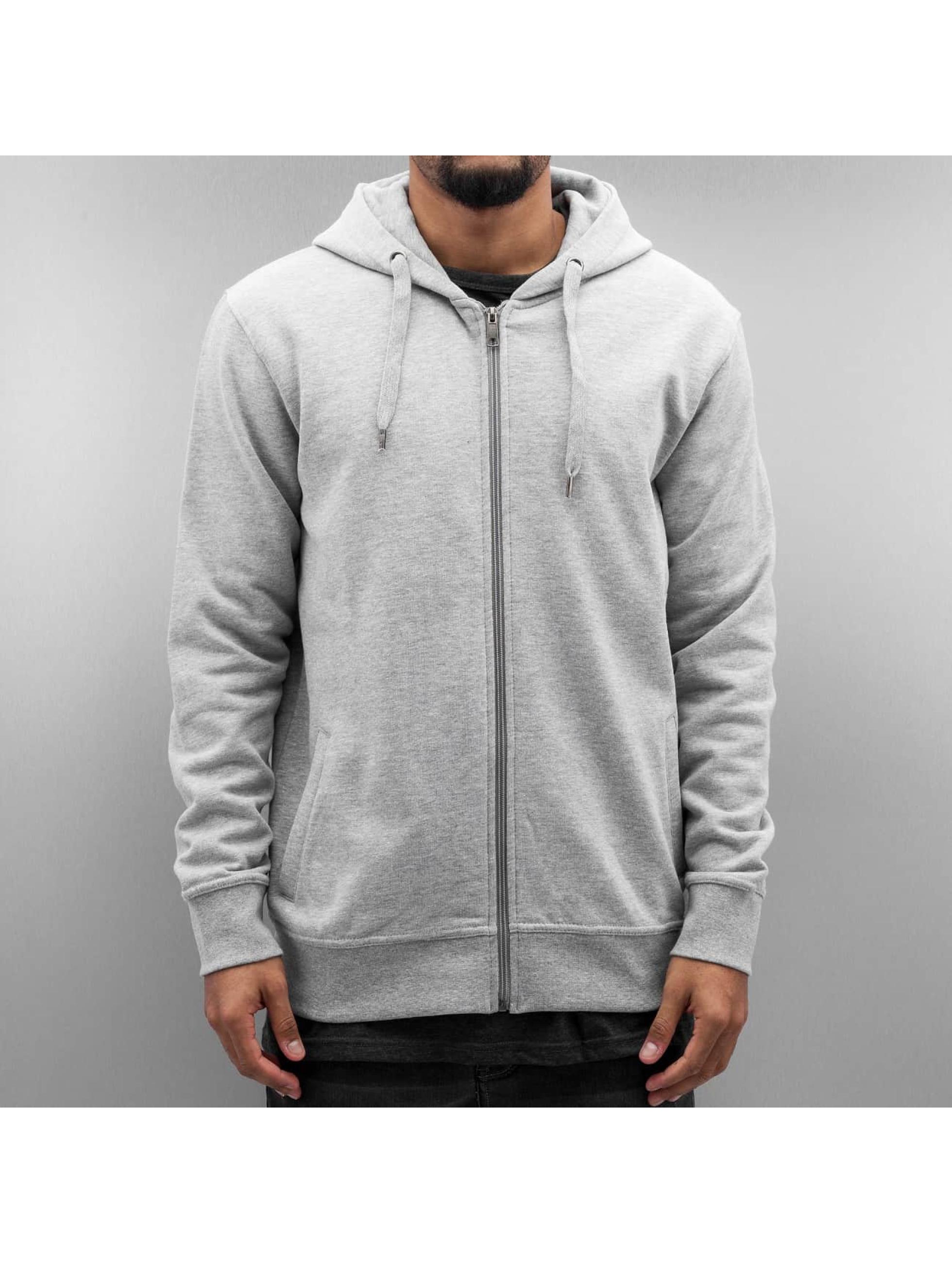 Cyprime Zip Hoodie Organic Cotton grey