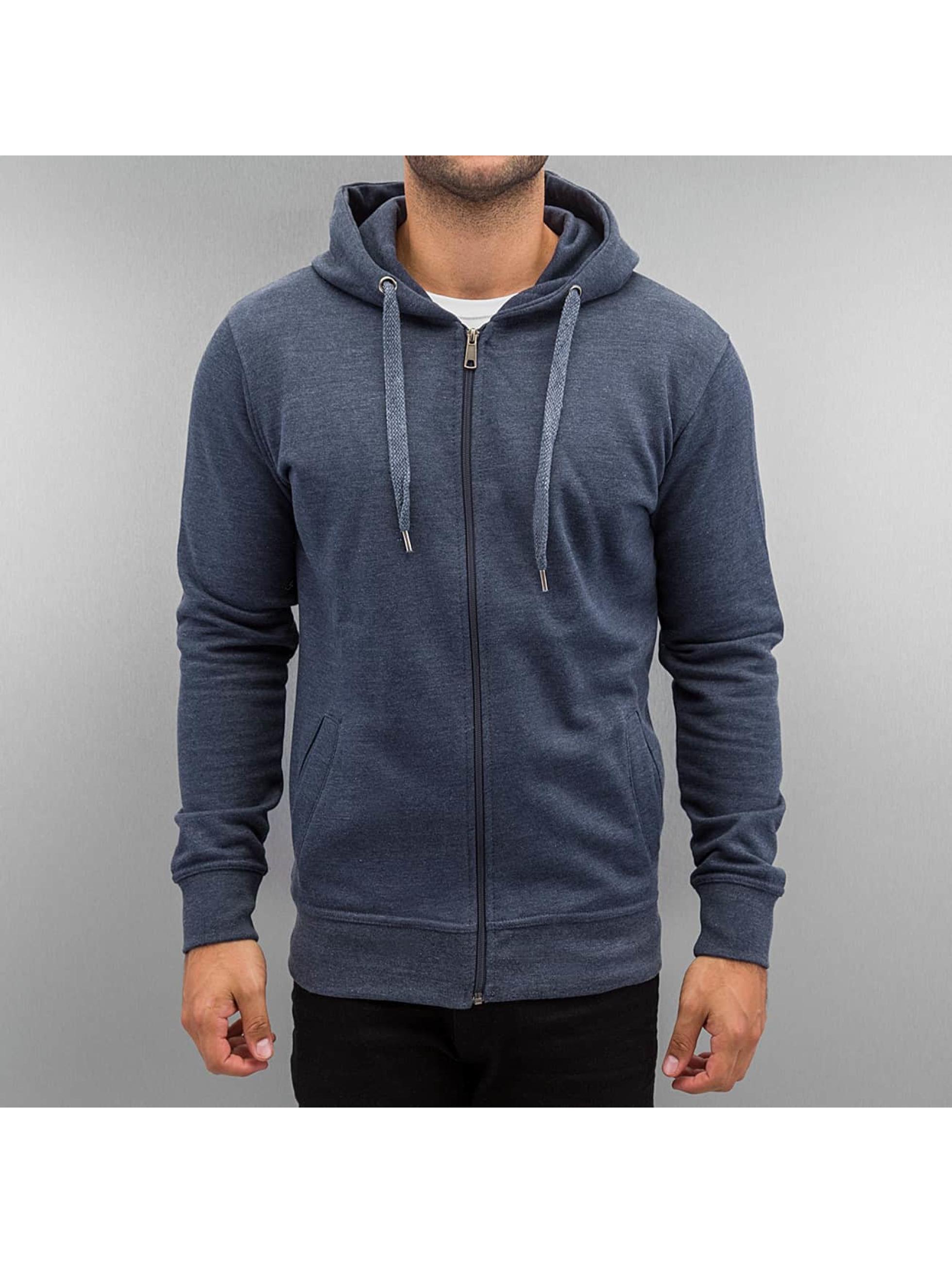 Cyprime Zip Hoodie Basic niebieski