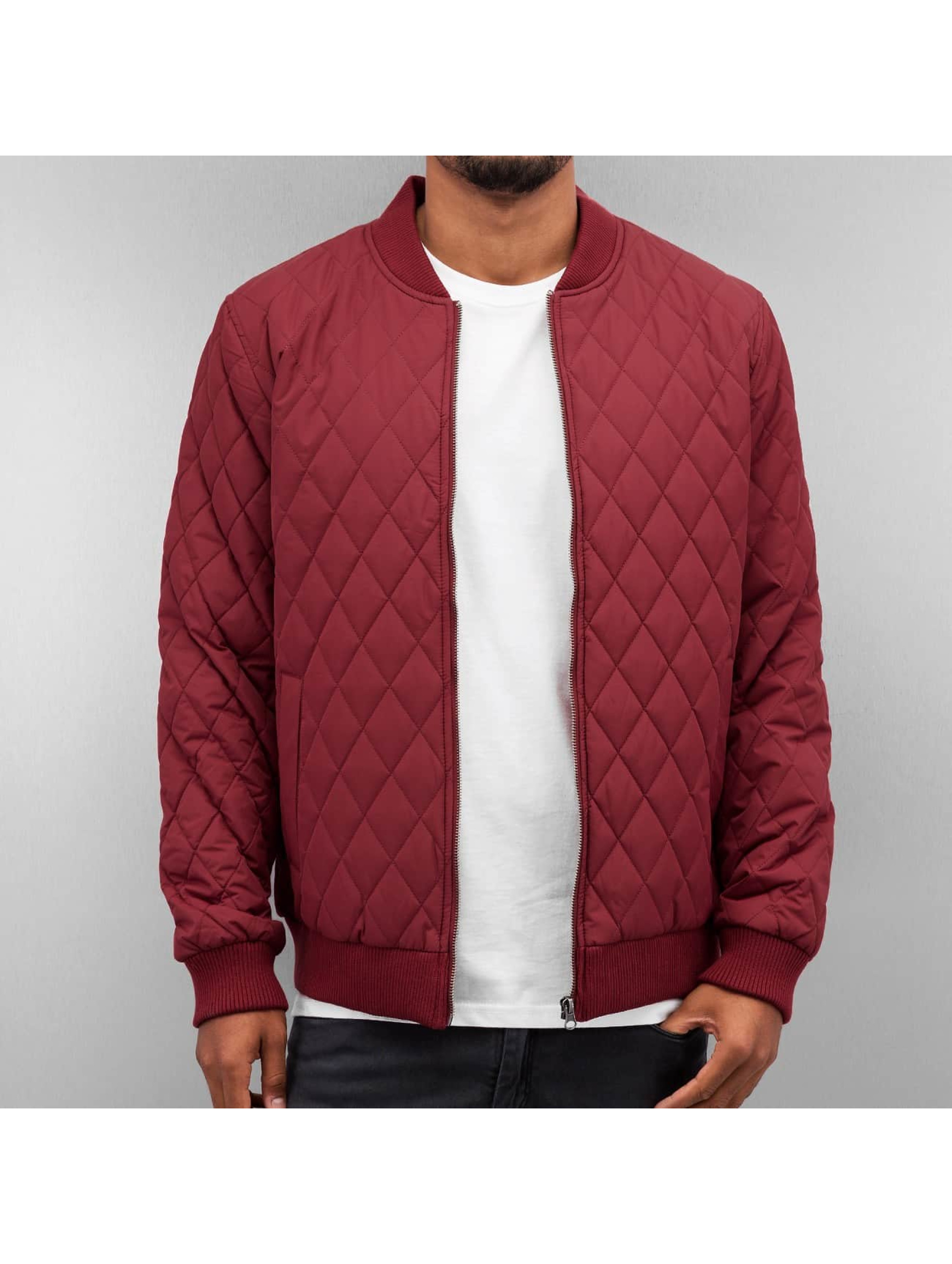 Cyprime jas / Zomerjas Quilted in rood