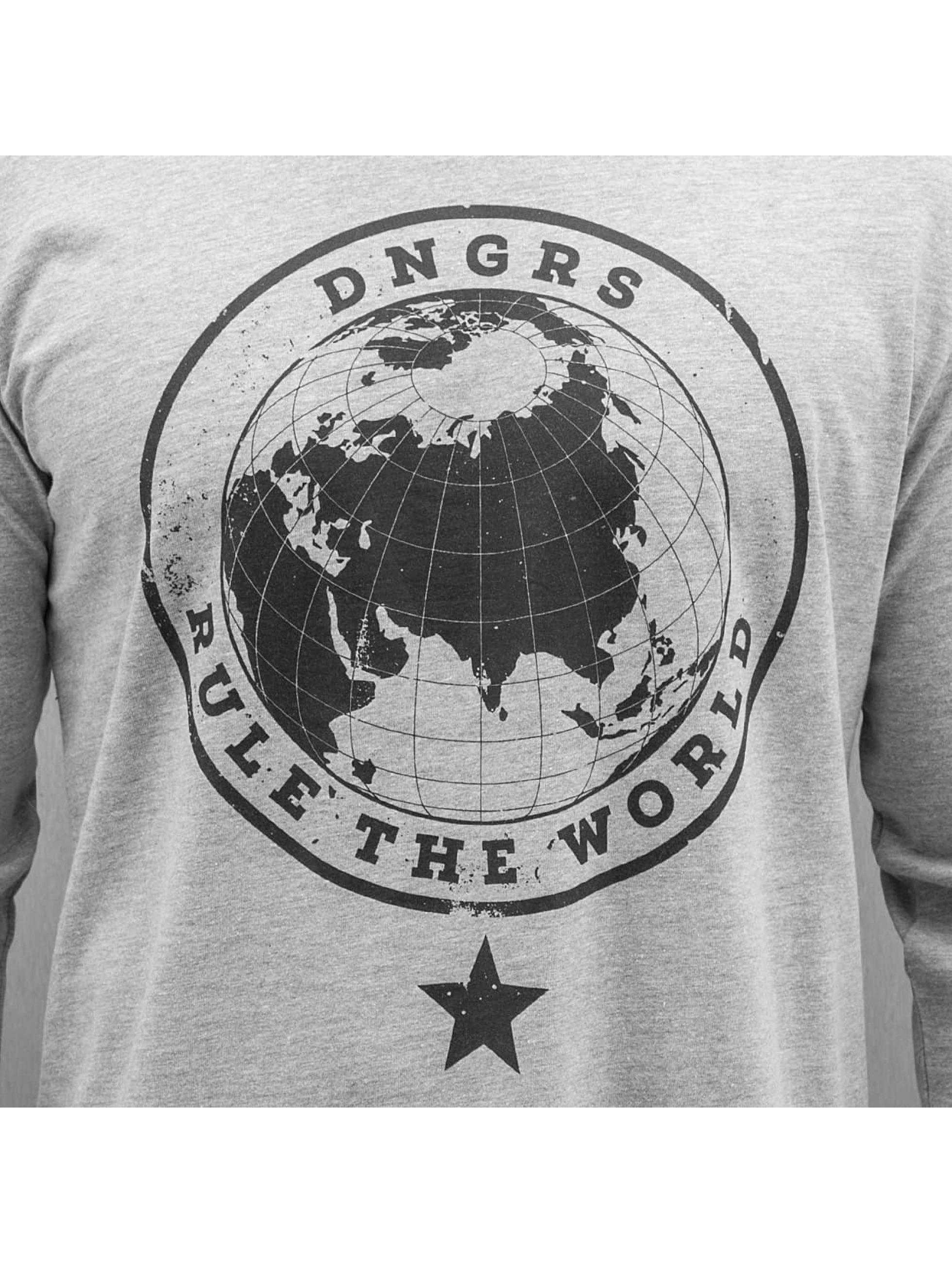 Dangerous DNGRS Водолазка Rule The World серый