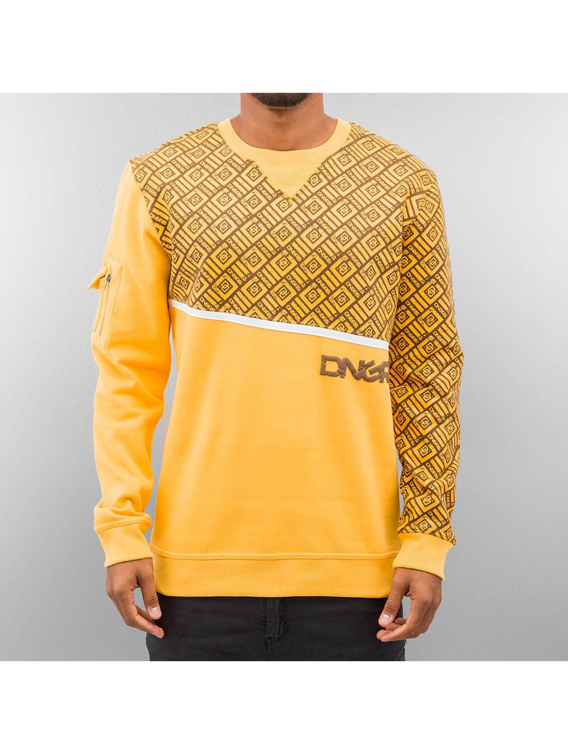 Dangerous DNGRS Пуловер All Over коричневый