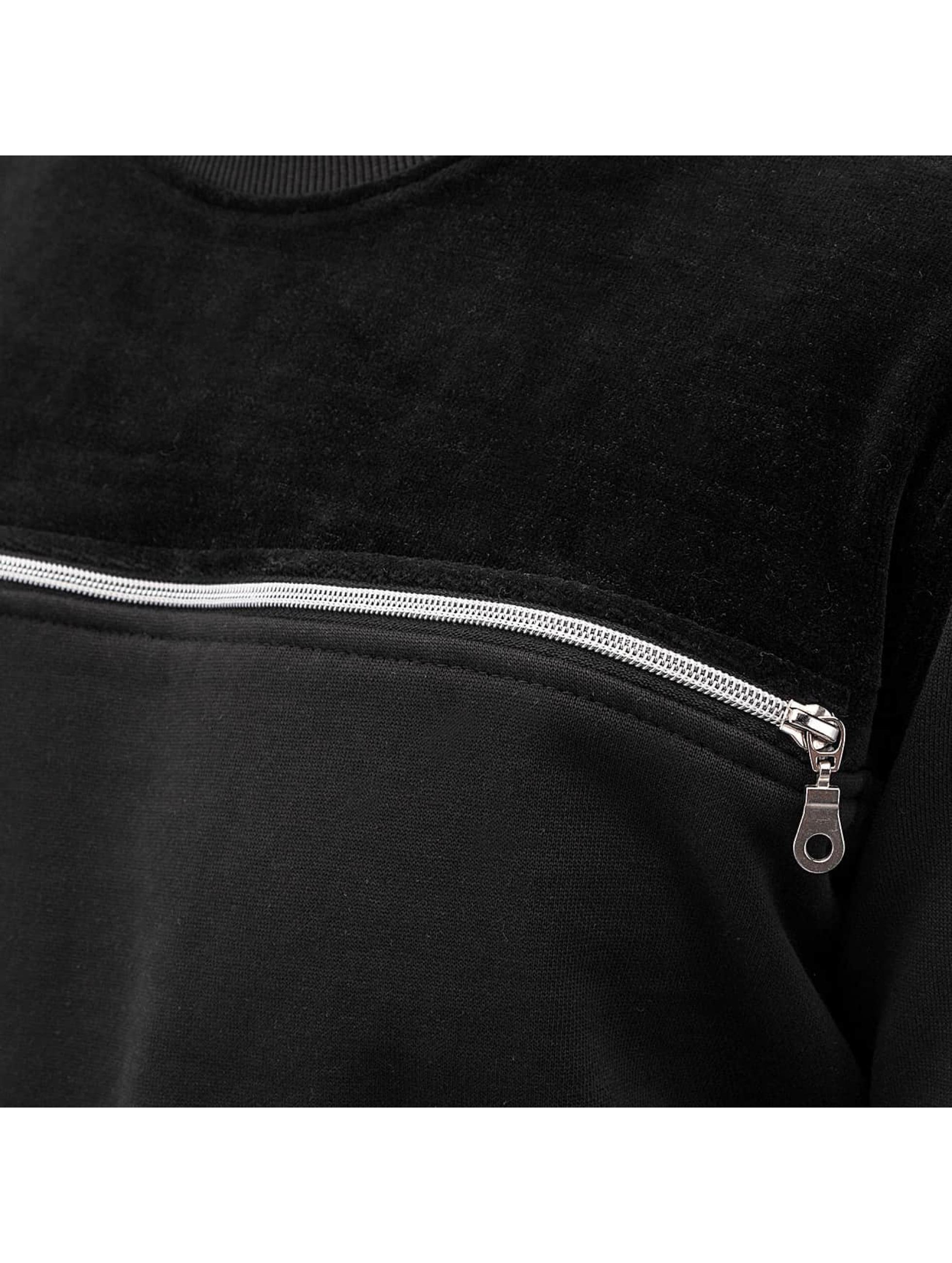 Dangerous DNGRS Пуловер Samt черный