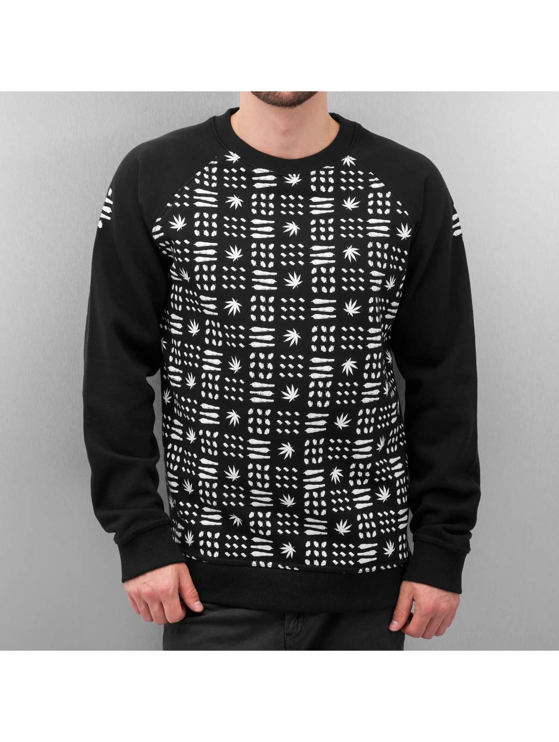 Dangerous DNGRS Пуловер Weed черный
