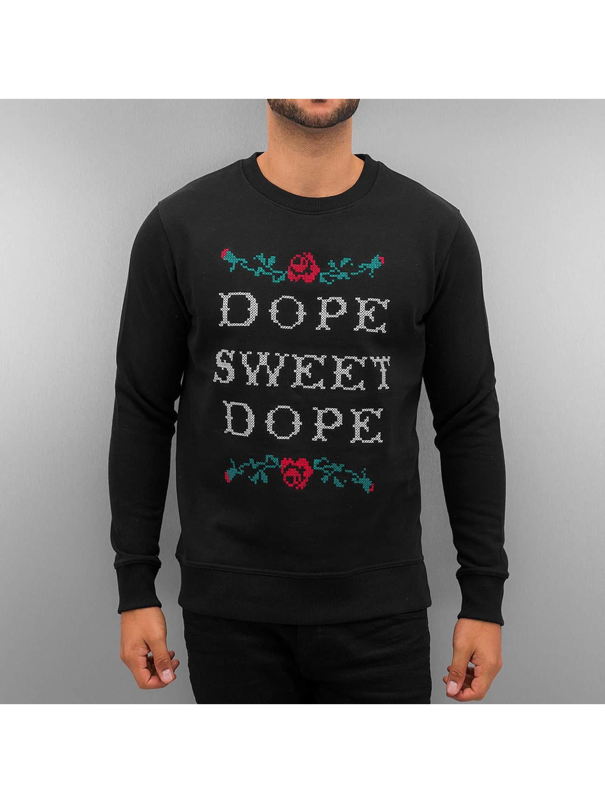 Dangerous DNGRS Пуловер Dope Sweet Dope черный