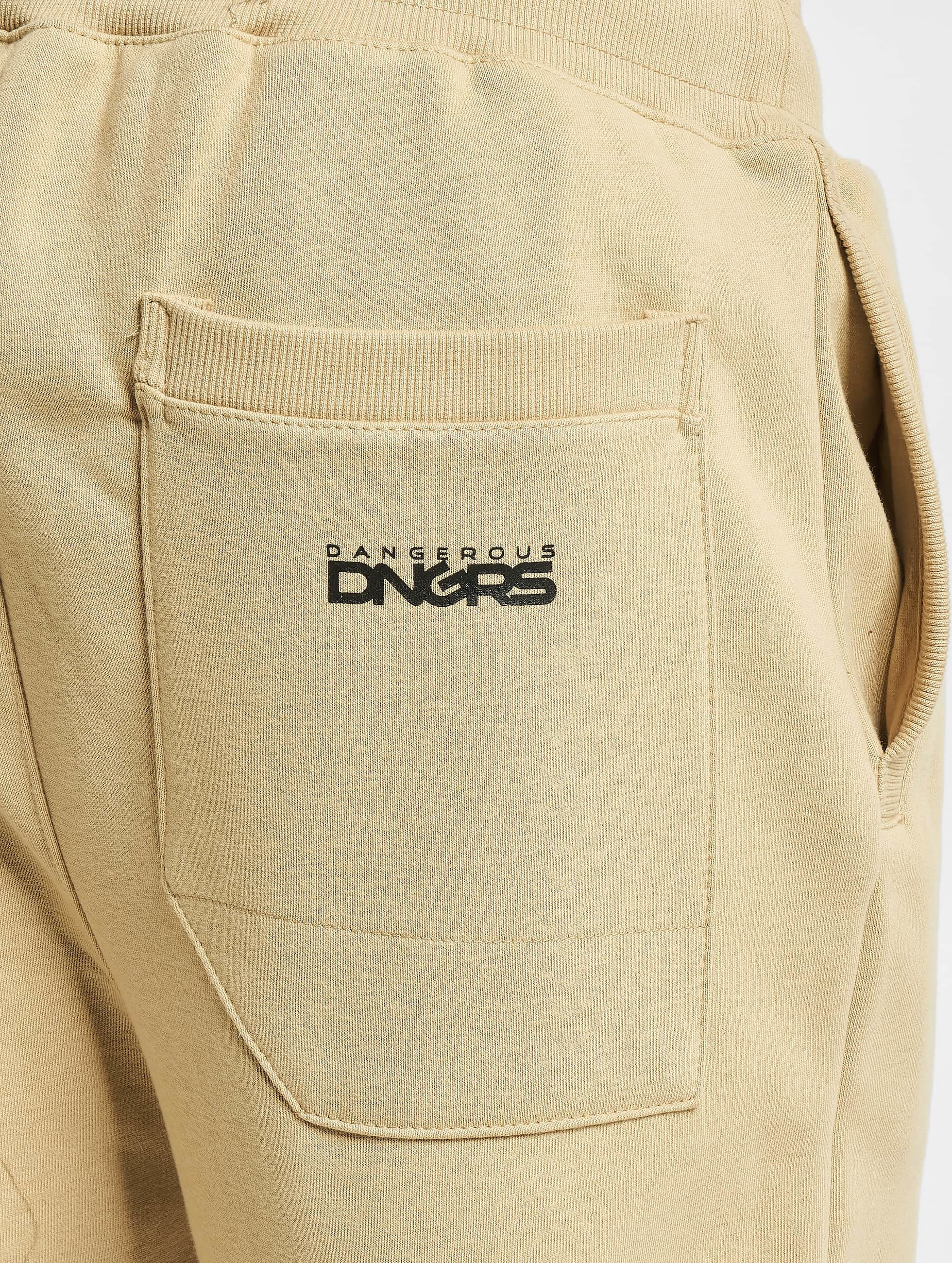 Dangerous DNGRS Спортивные брюки Classic бежевый