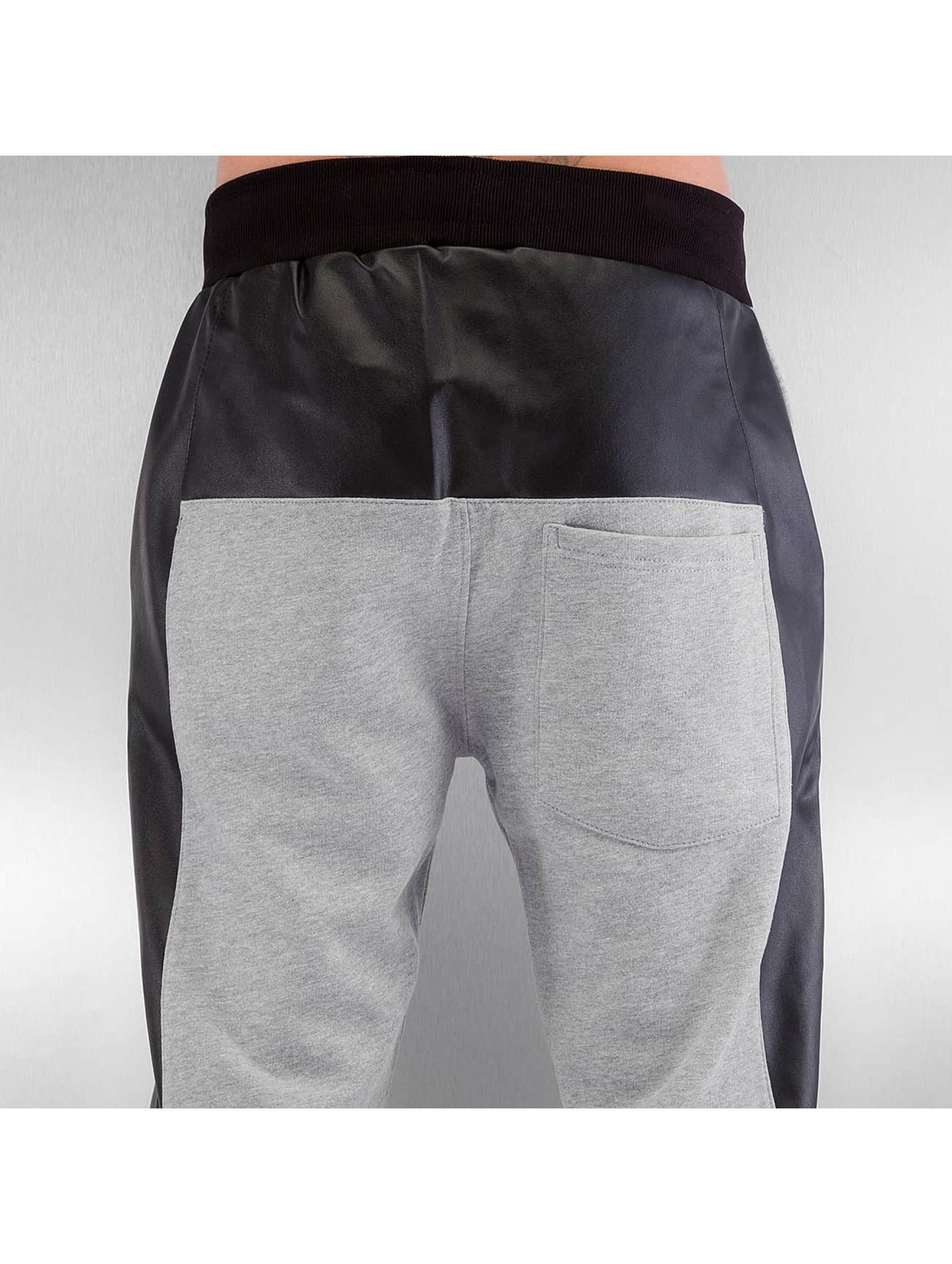 Dangerous DNGRS Спортивные брюки PU Outlines серый