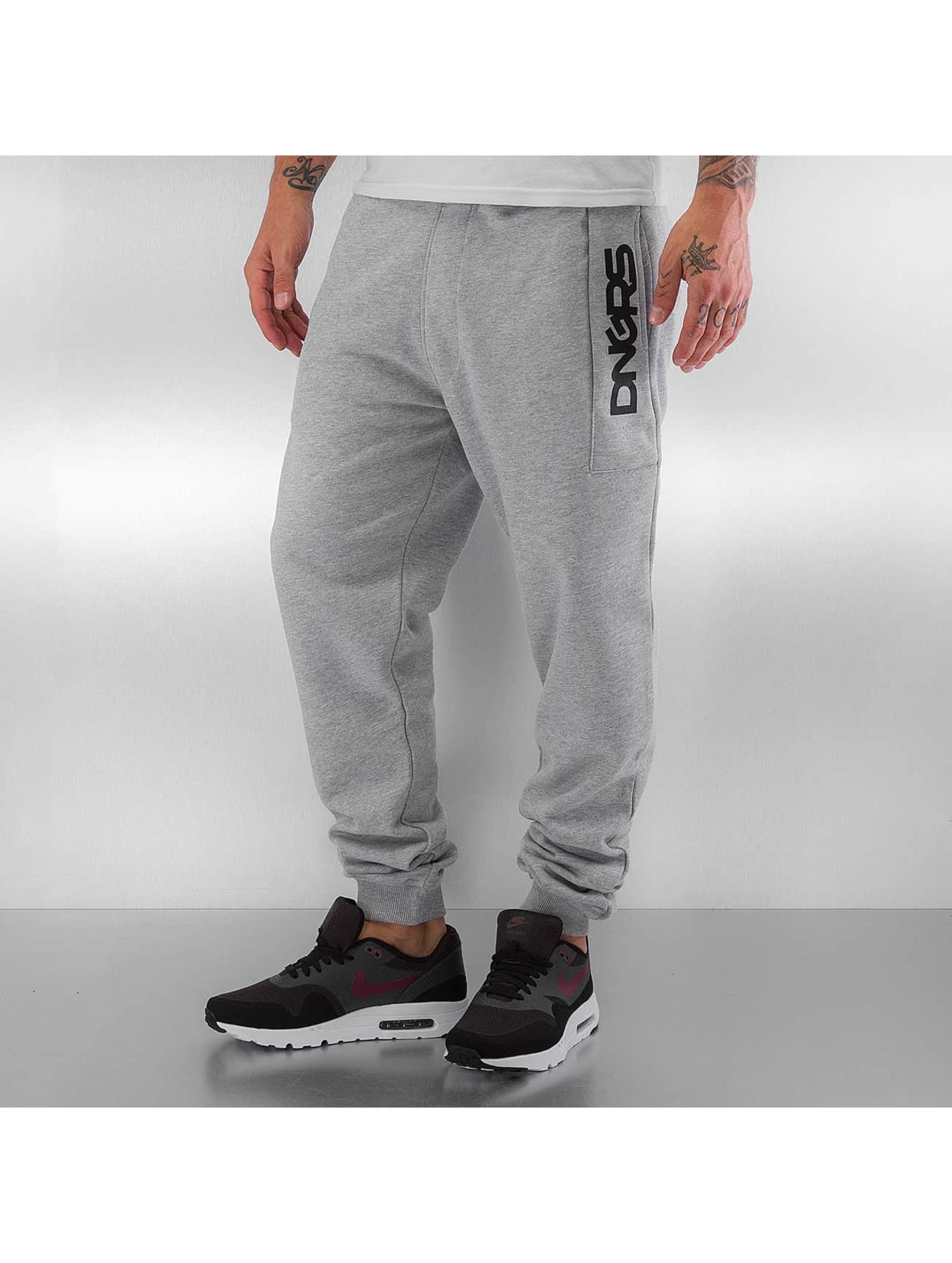 Dangerous DNGRS Спортивные брюки Blowing Money Fast серый