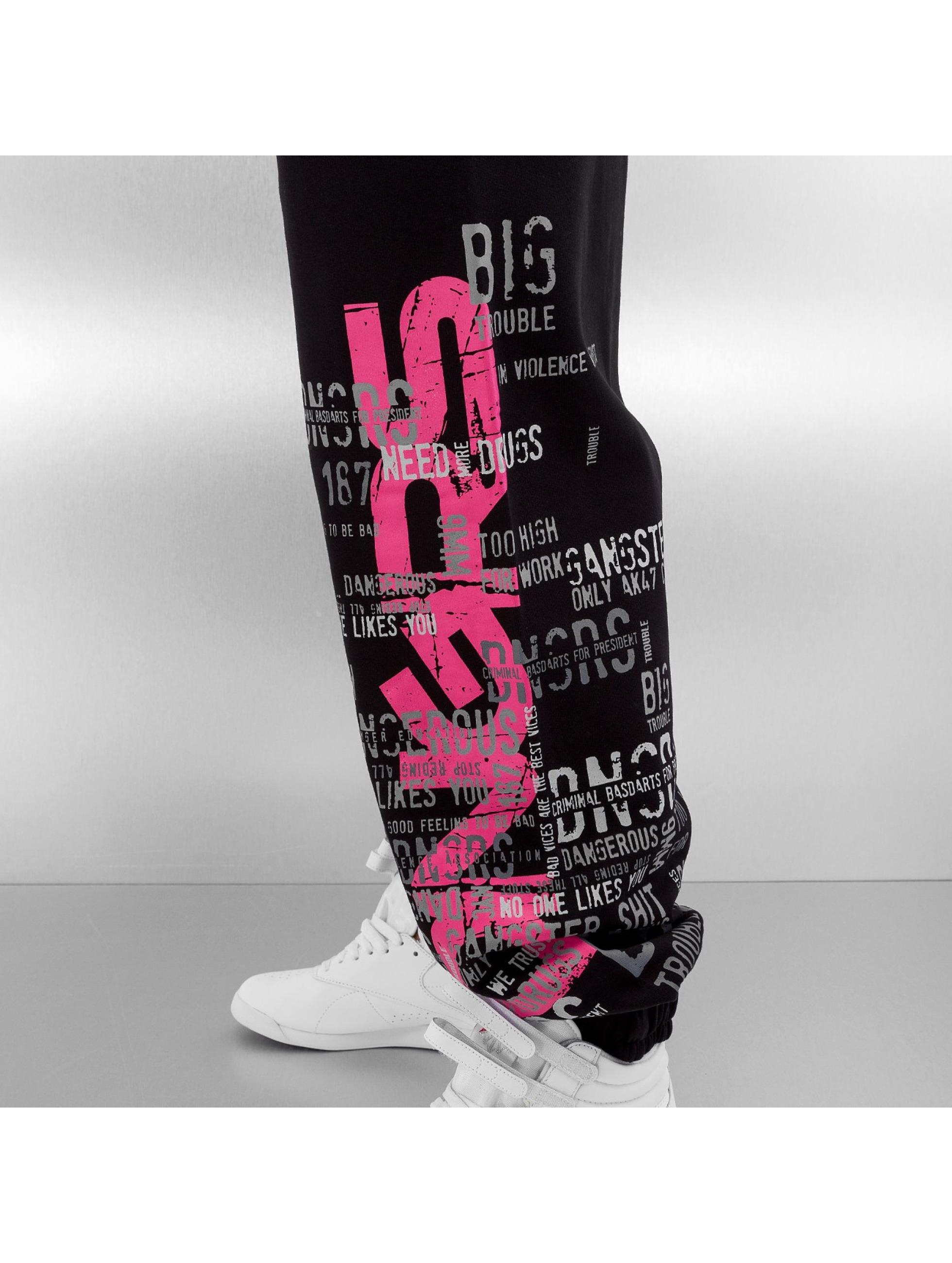 Dangerous DNGRS Спортивные брюки Logo черный