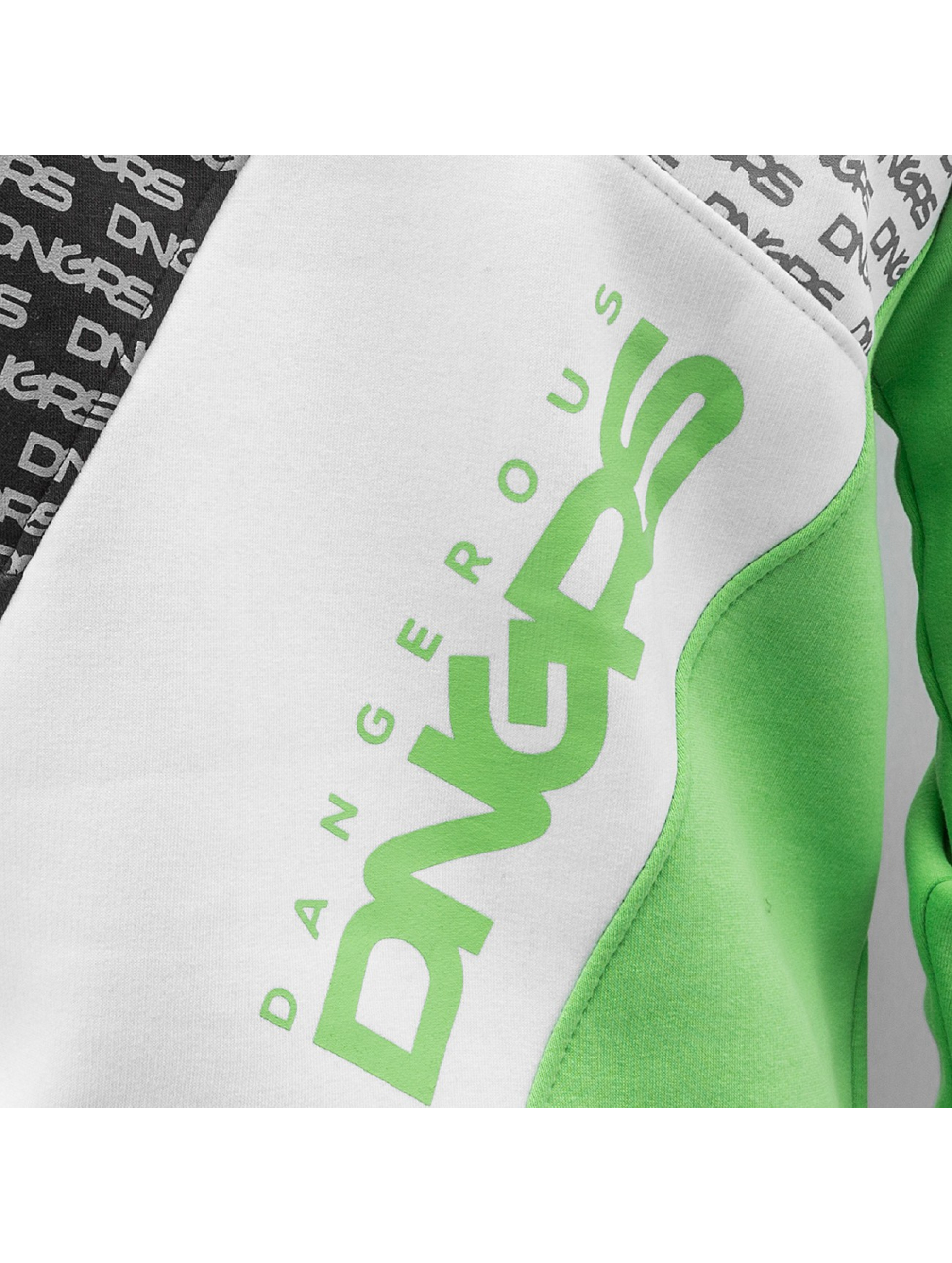 Dangerous DNGRS Толстовка Logo зеленый