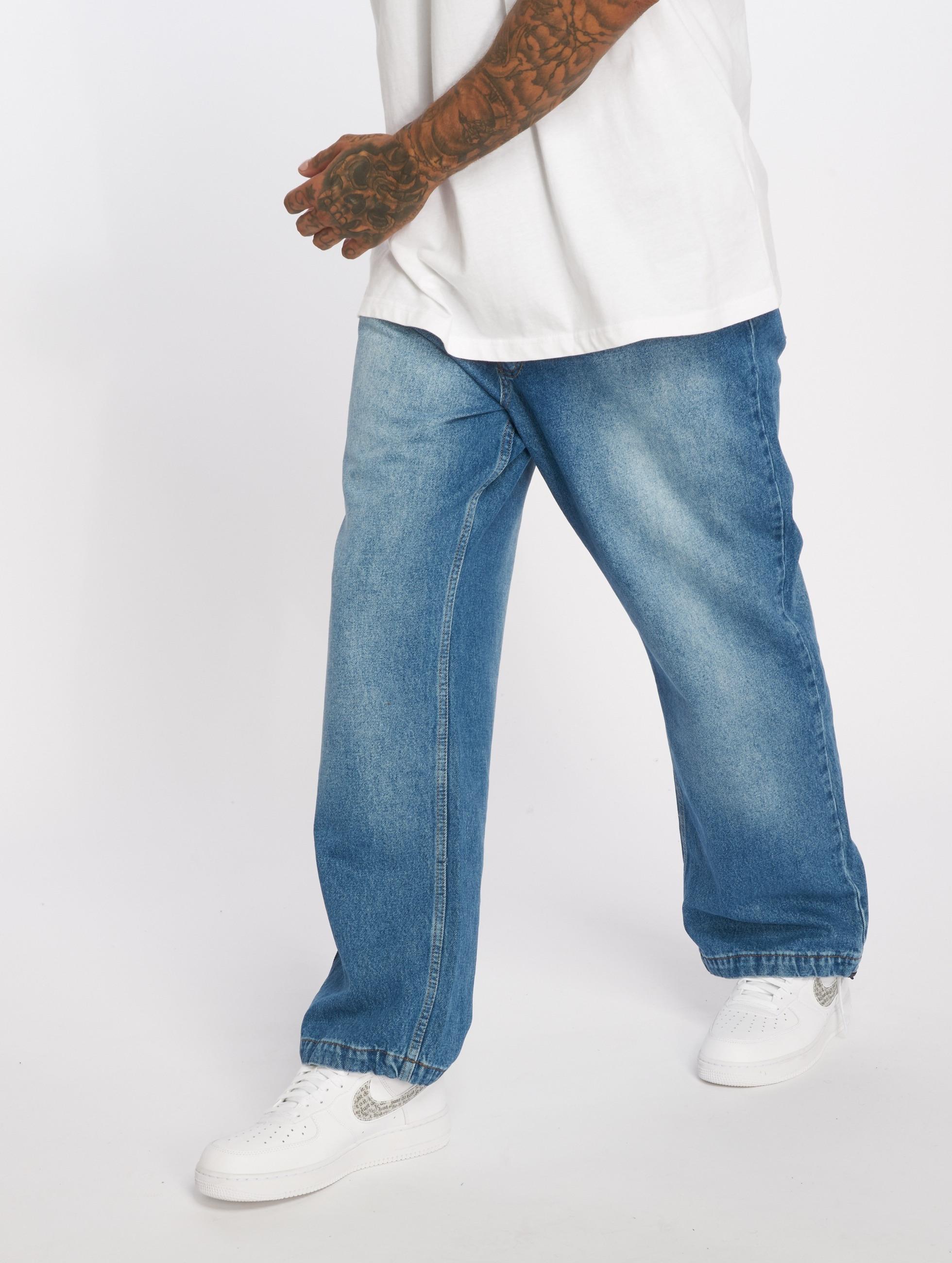 Dangerous DNGRS Baggy jeans Aramis blauw