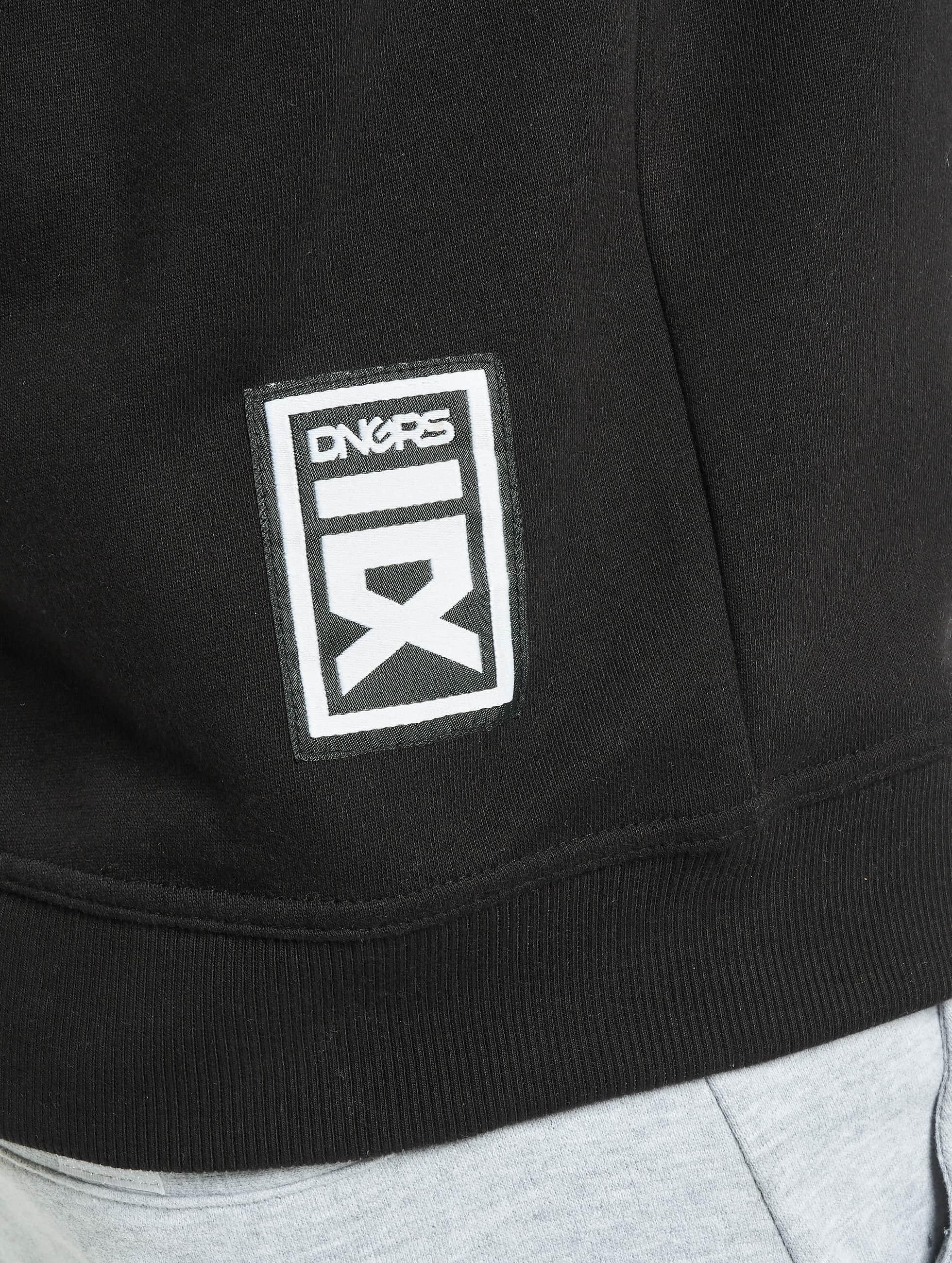 Dangerous DNGRS Bluzy z kapturem DD czarny