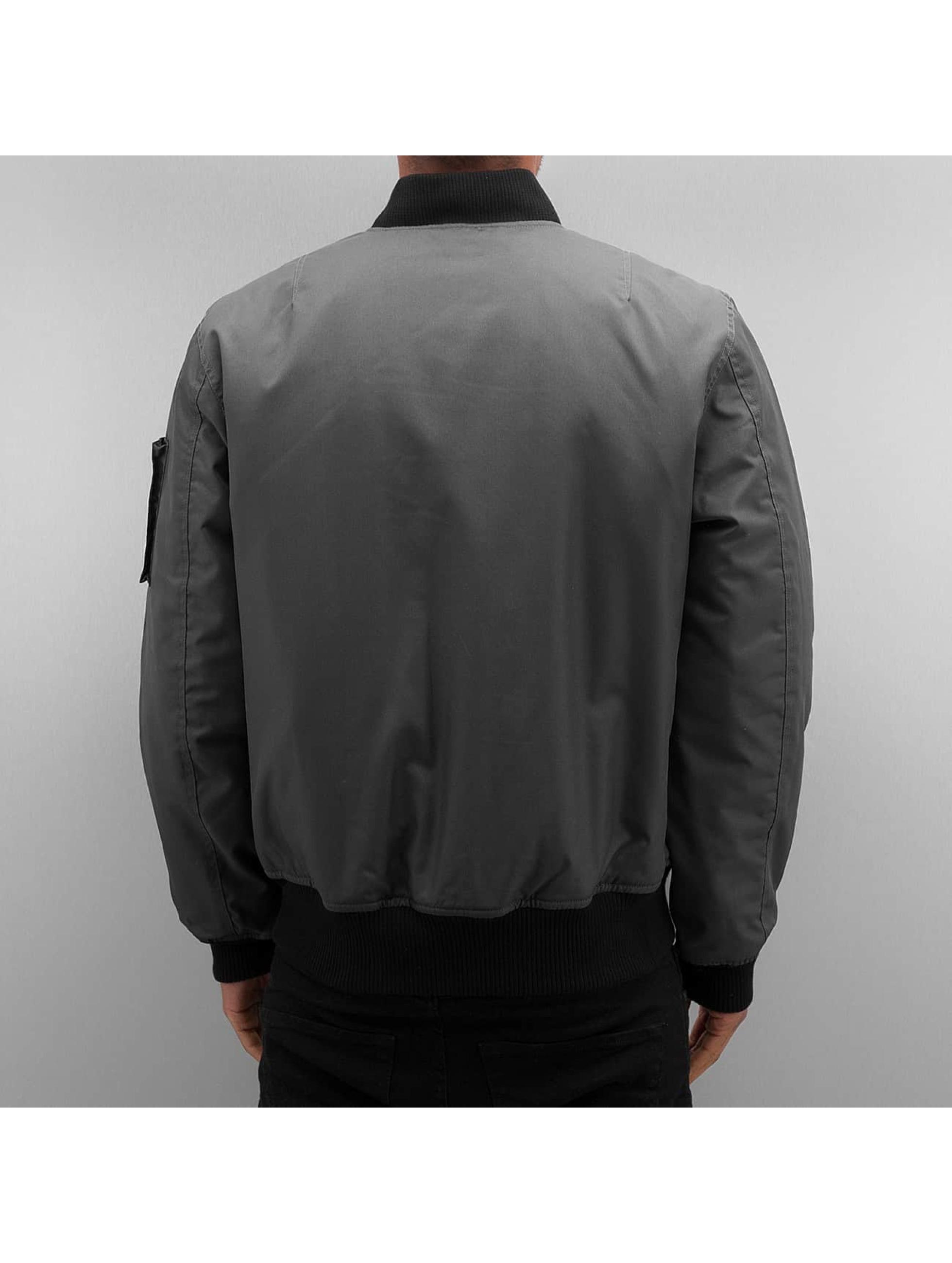 Dangerous DNGRS Bomber jacket Classic gray