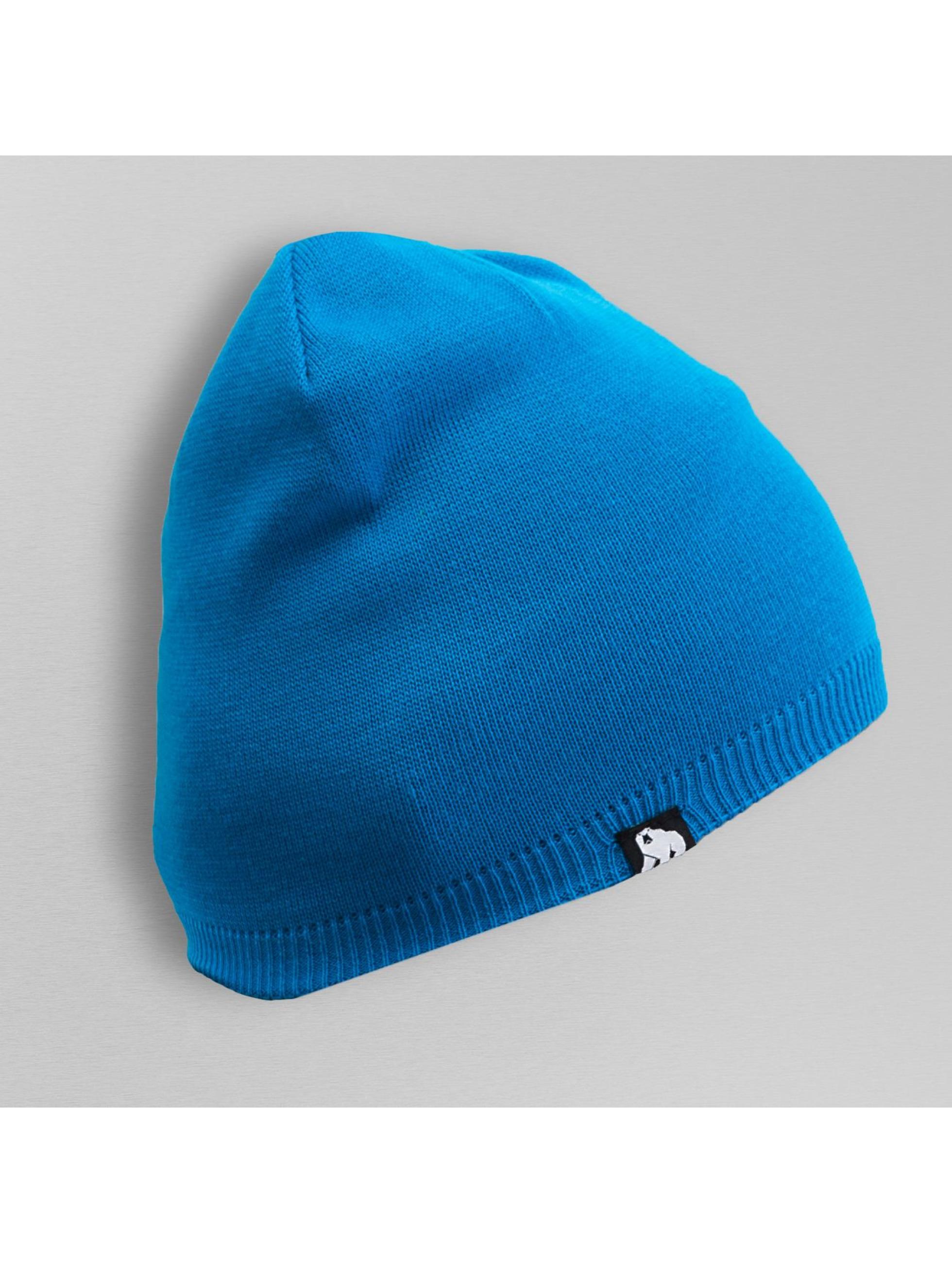 Dangerous DNGRS Bonnet Plain Colour bleu