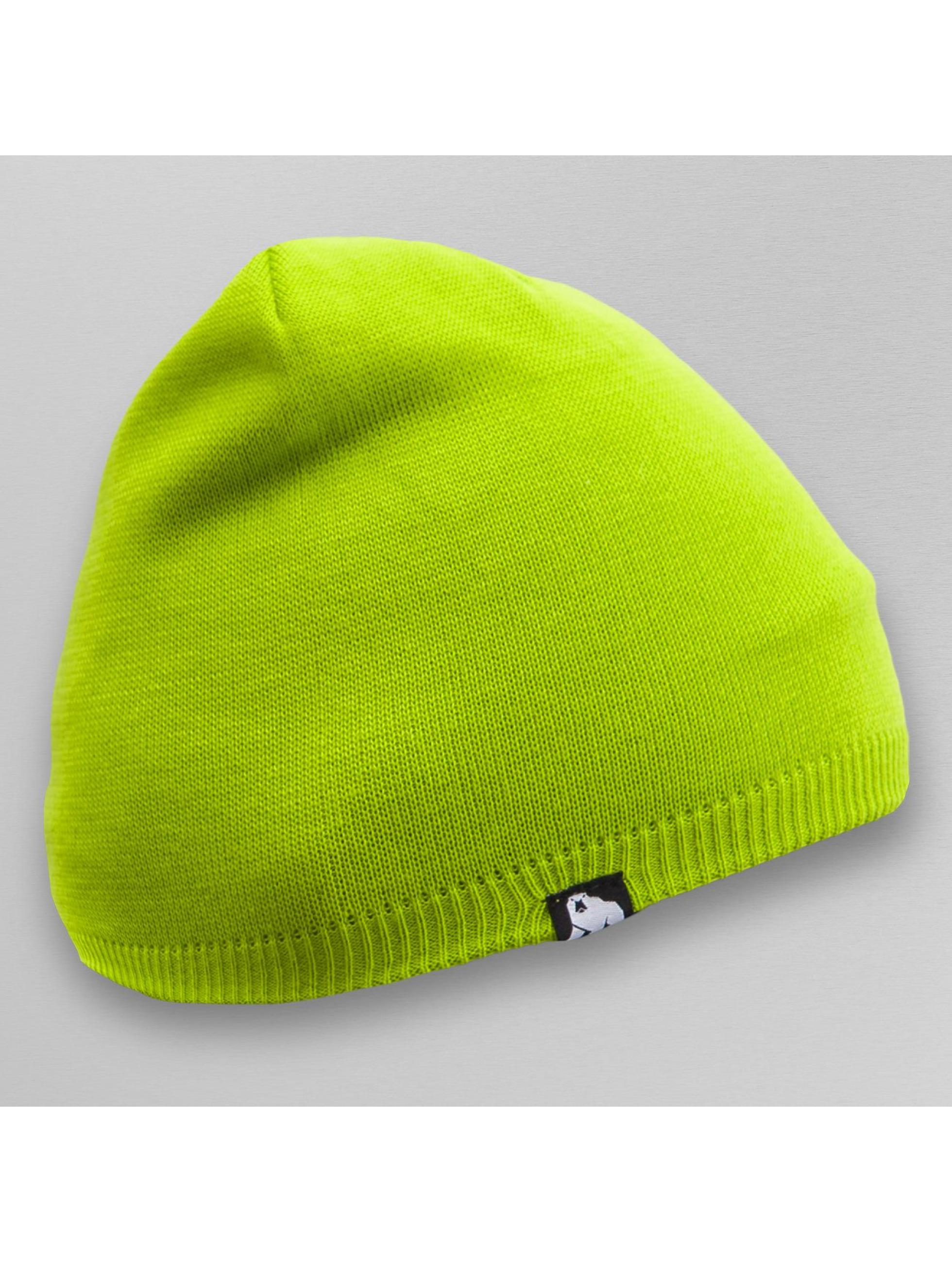 Dangerous DNGRS Bonnet Plain Colour vert