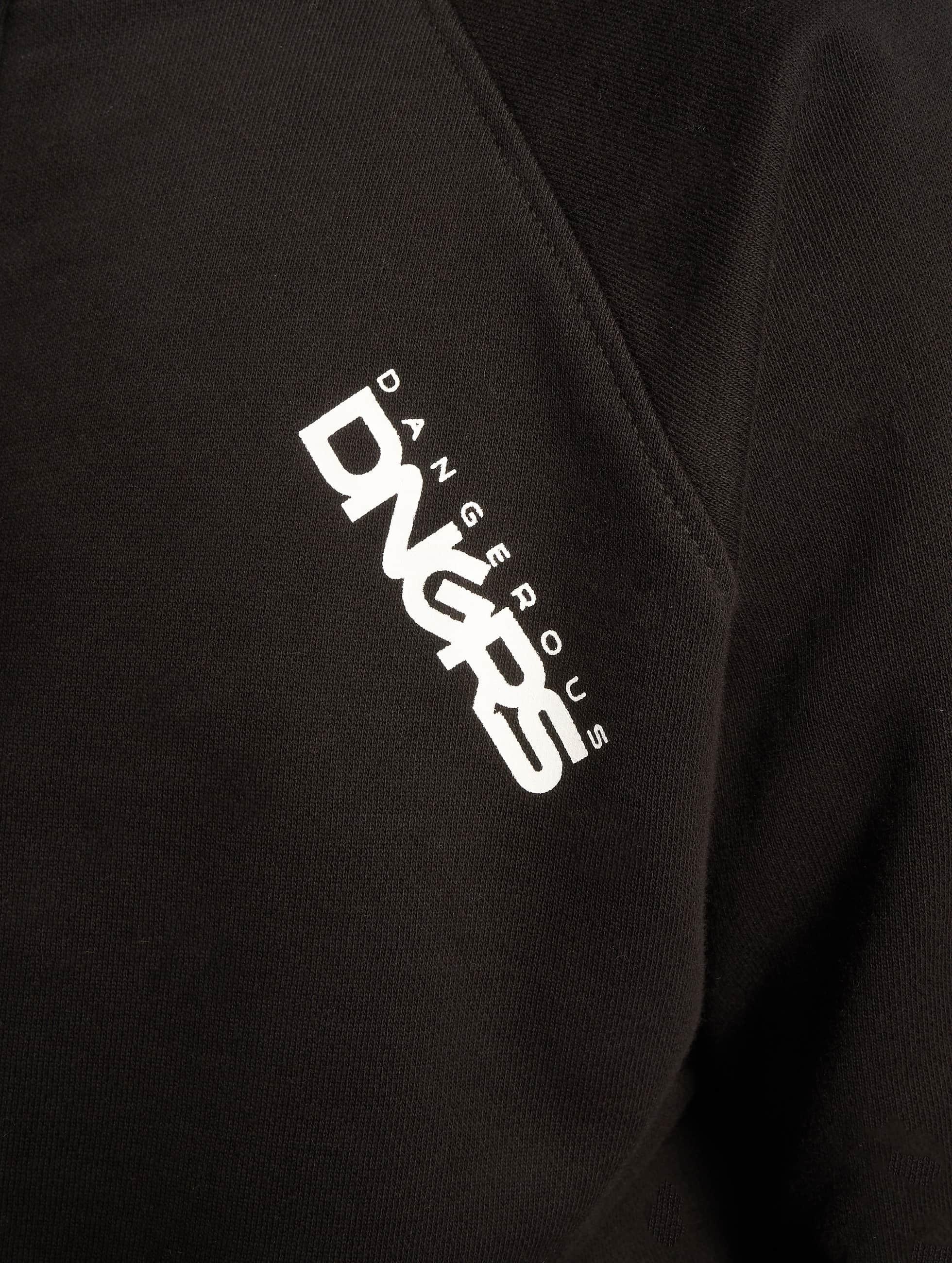 Dangerous DNGRS Collegepuvut Rock musta
