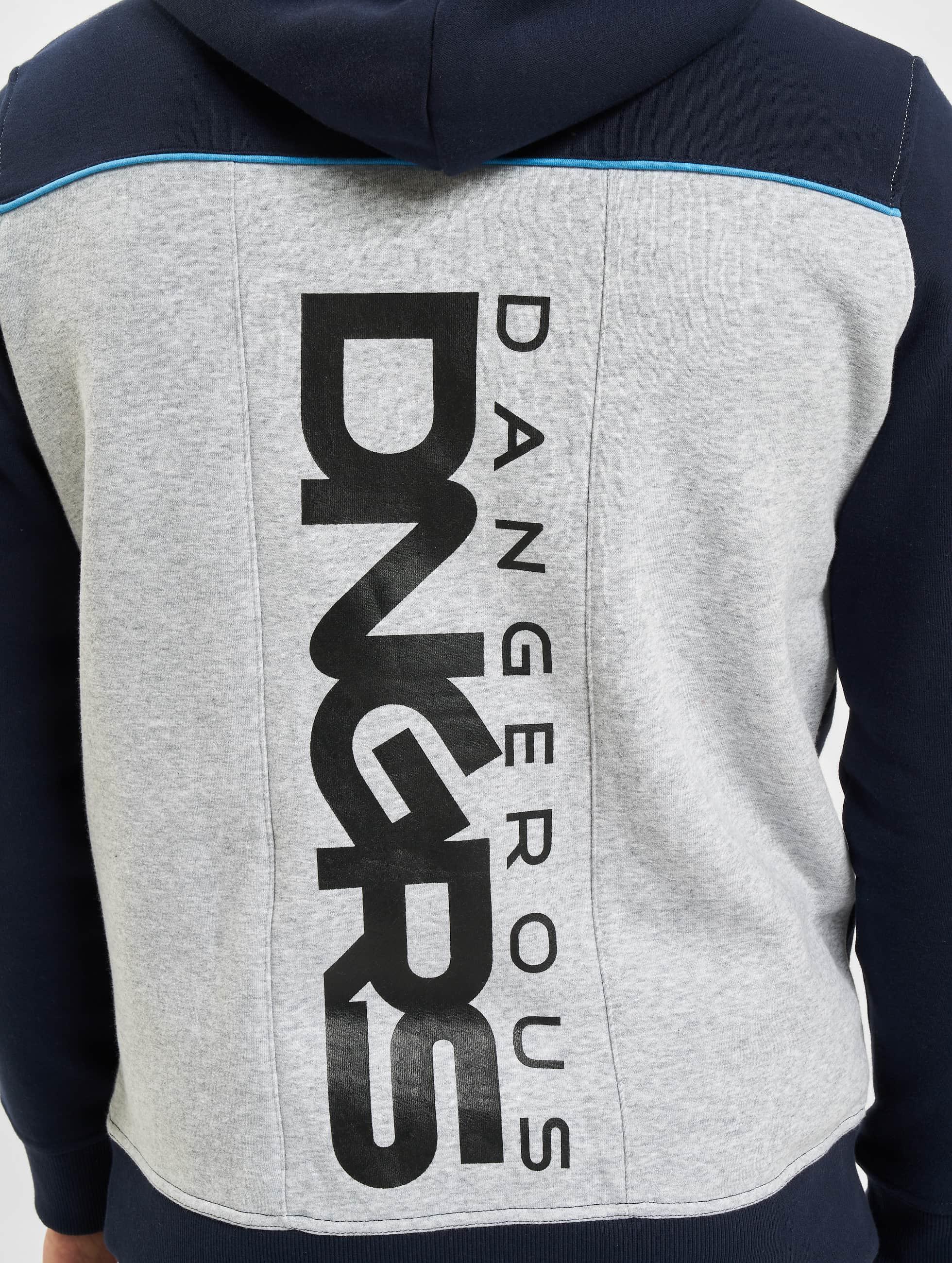 Dangerous DNGRS Dresy Marne niebieski