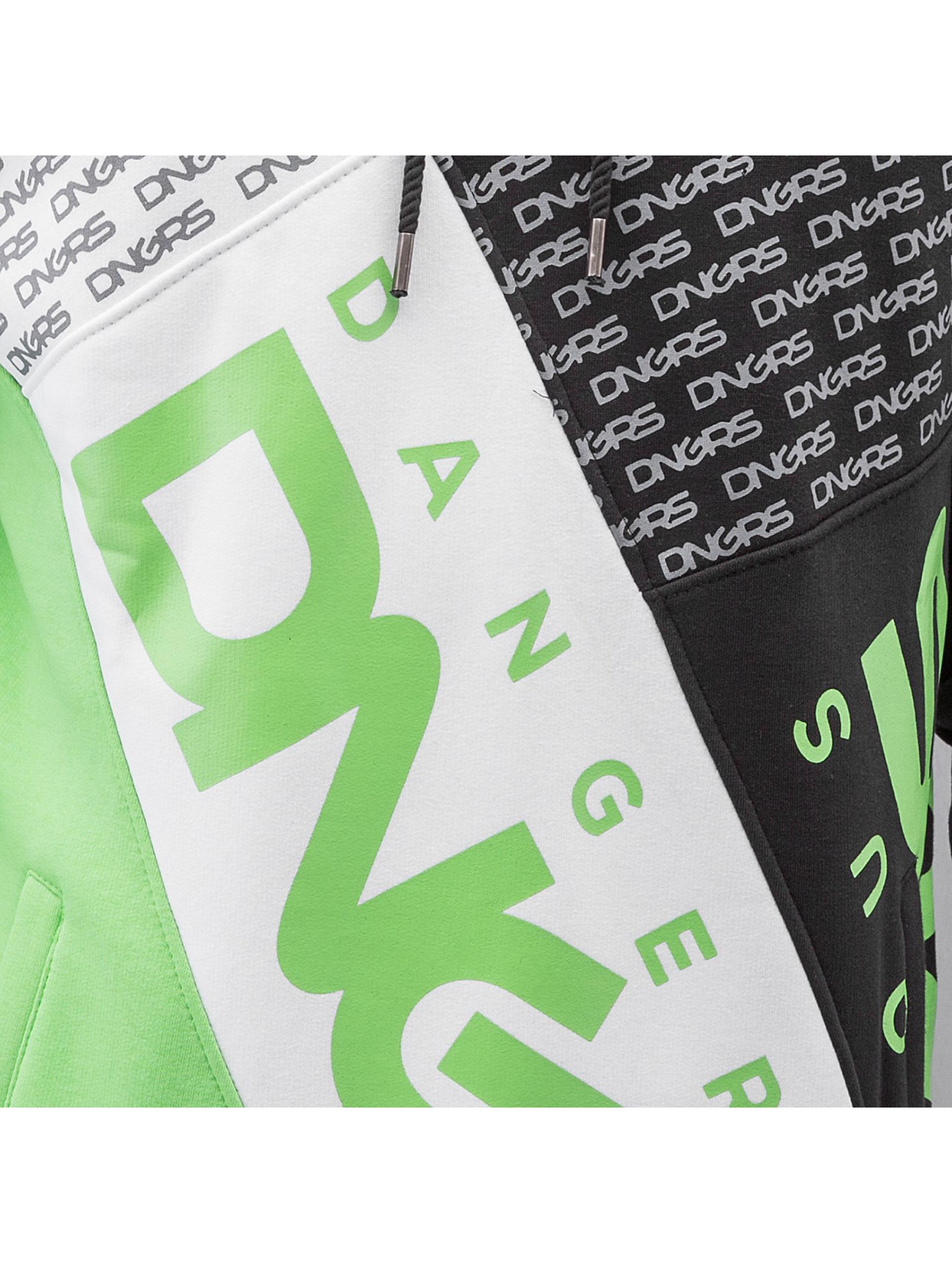 Dangerous DNGRS Hoody Logo groen