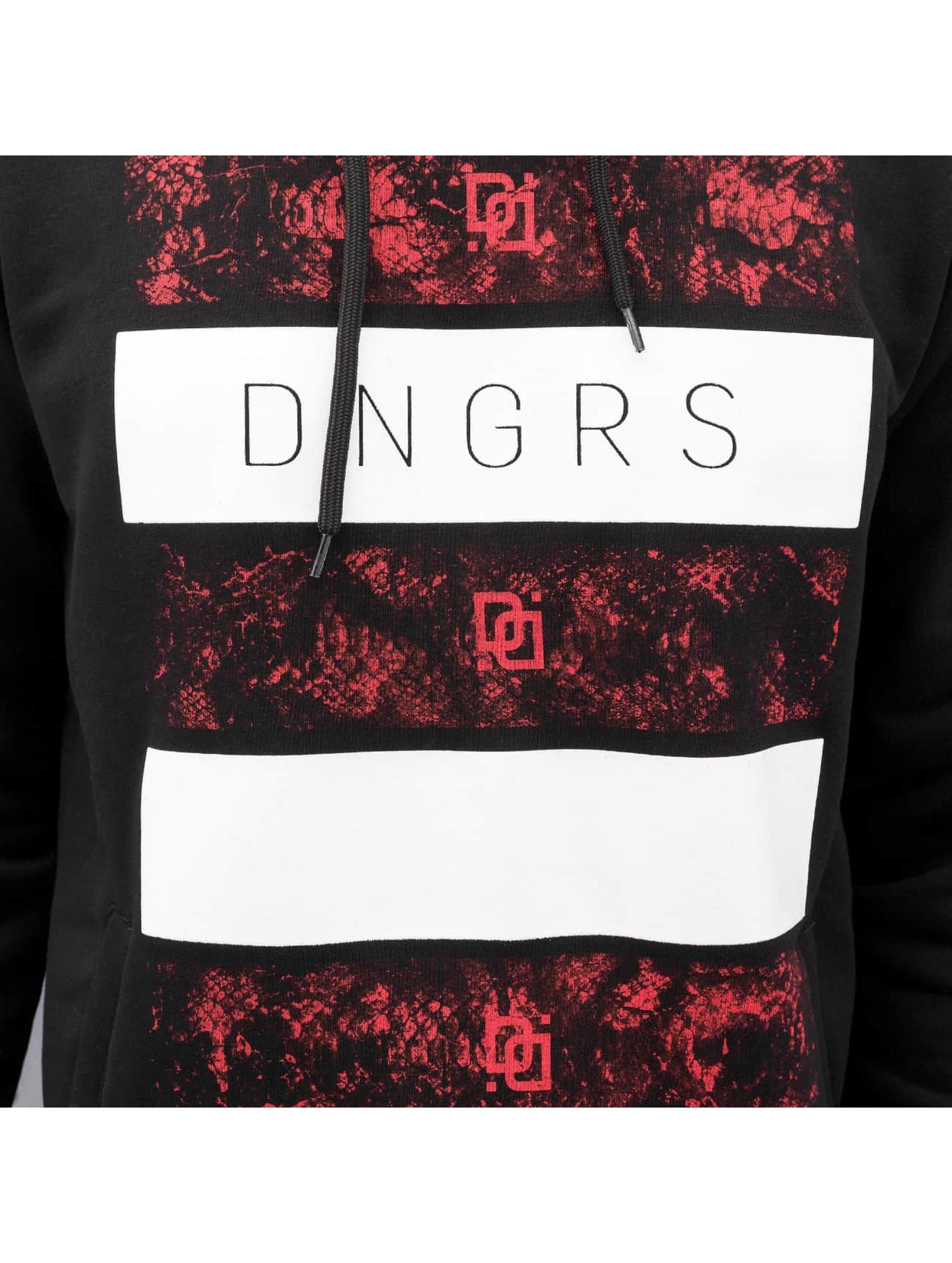 Dangerous DNGRS Hoody Logo schwarz